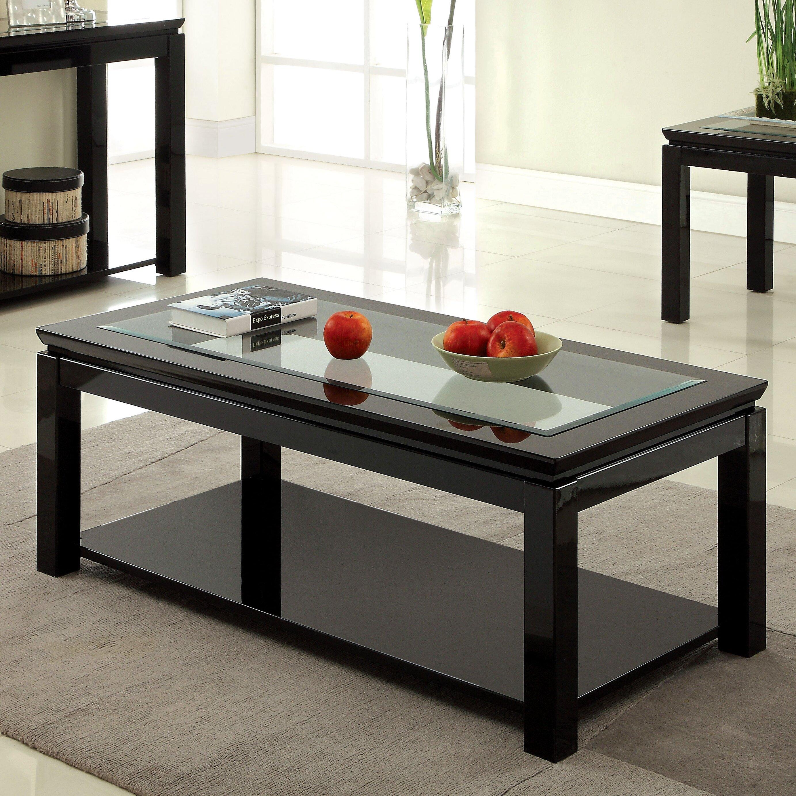 Hokku Designs Senna Coffee Table Reviews Wayfair