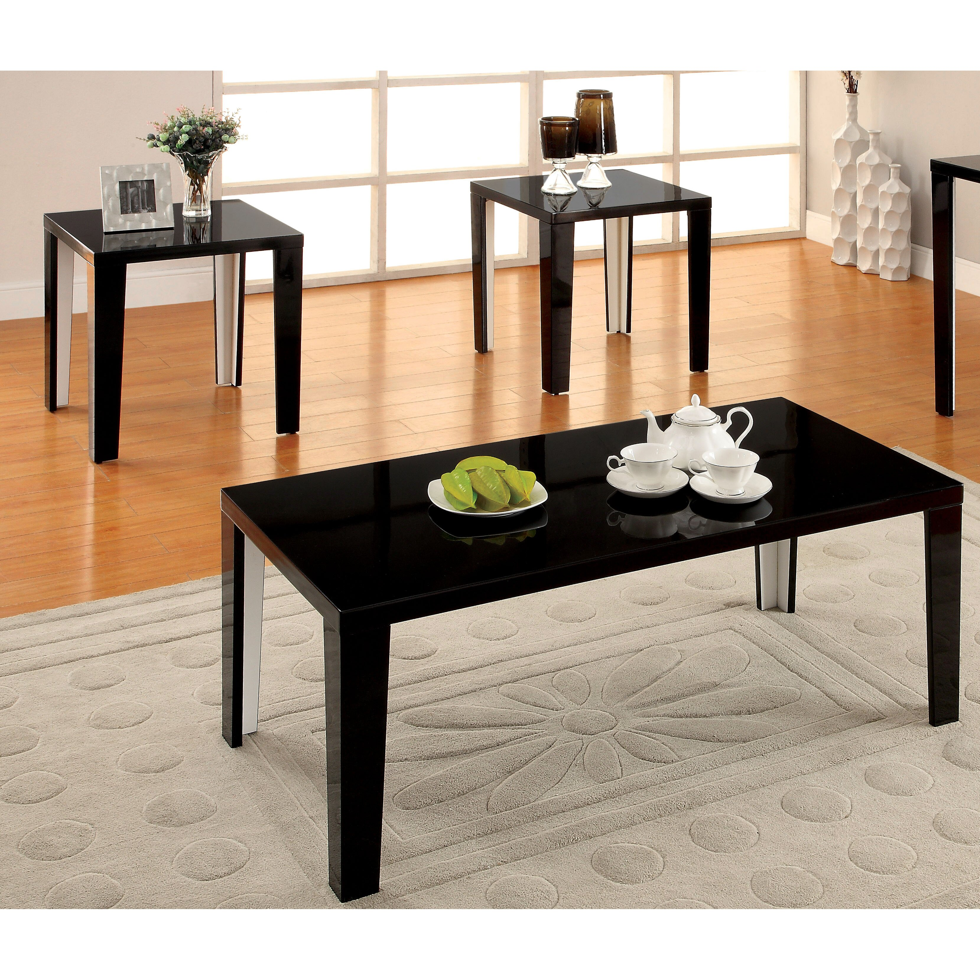 Hokku Coffee Table Sets: Hokku Designs Enichi 3 Piece Coffee Table Set & Reviews