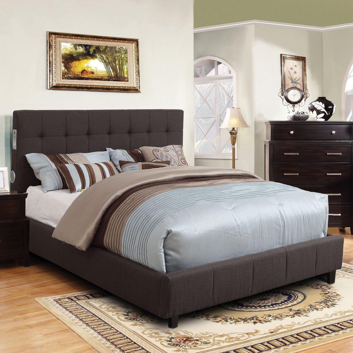 hokku designs upholstered panel bed reviews wayfair
