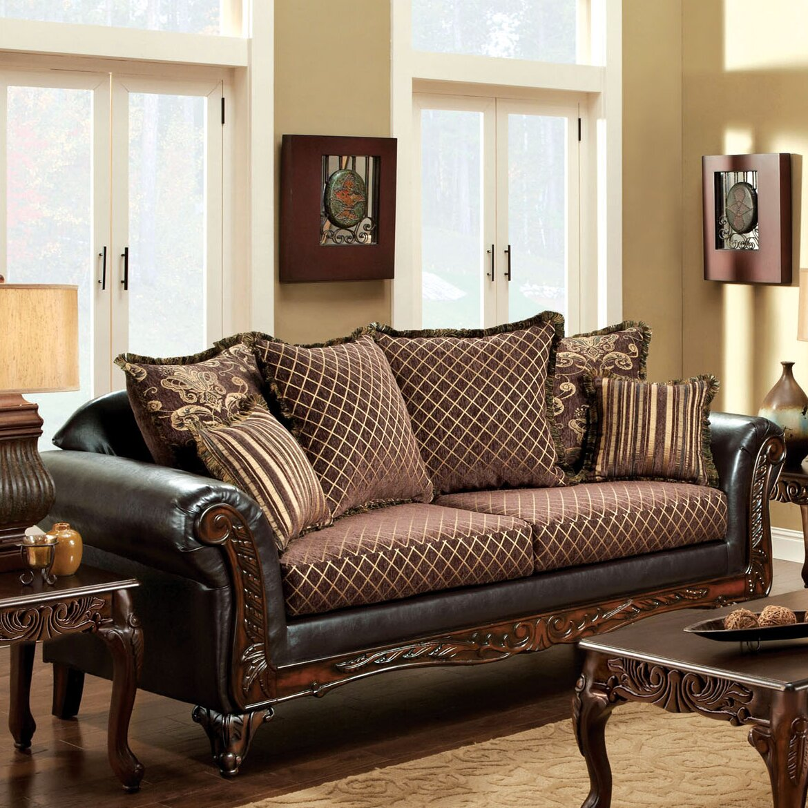 ornate living room furniture hokku designs constantine ornate living room collection 14835