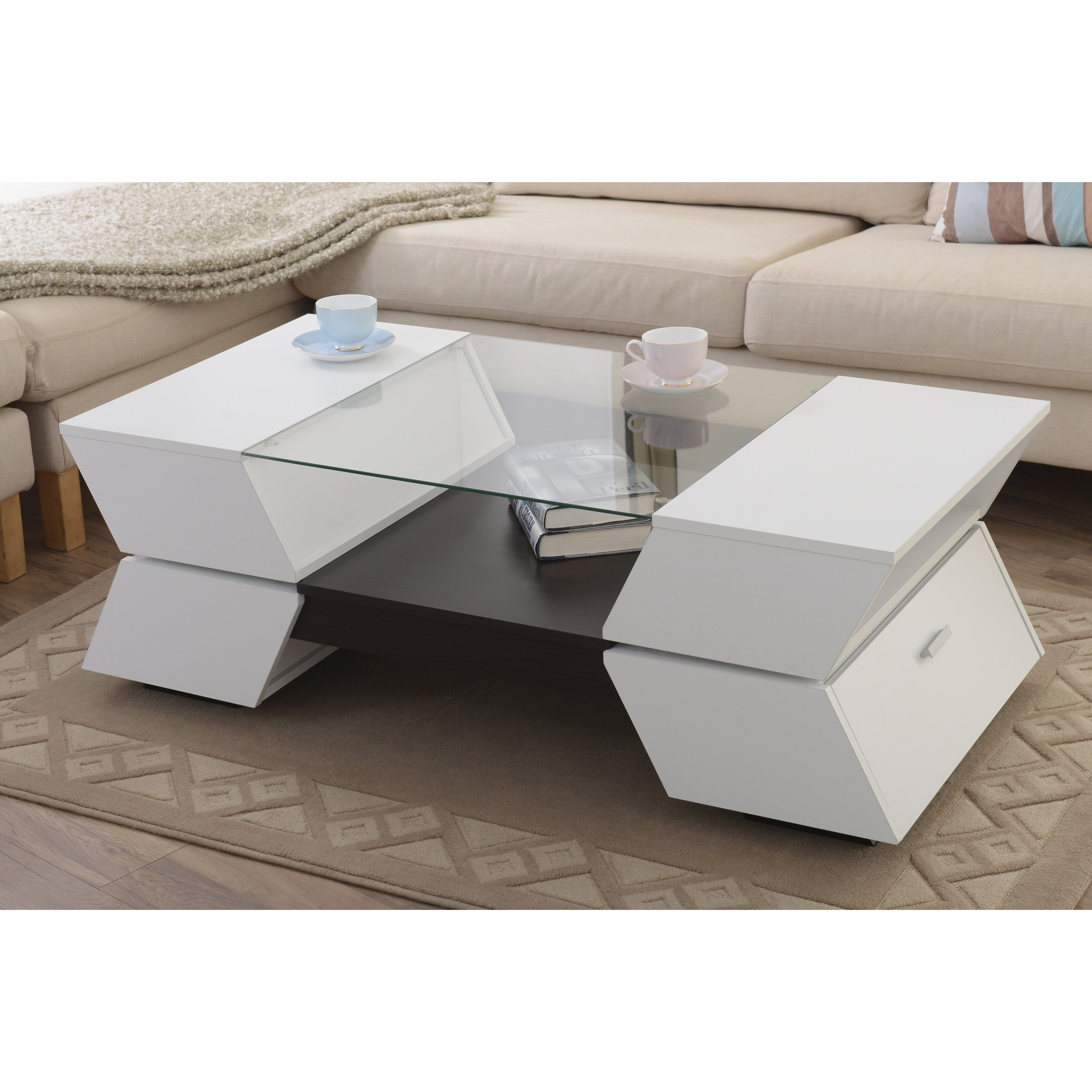 Hokku Designs Piazza Coffee Table Reviews Wayfair