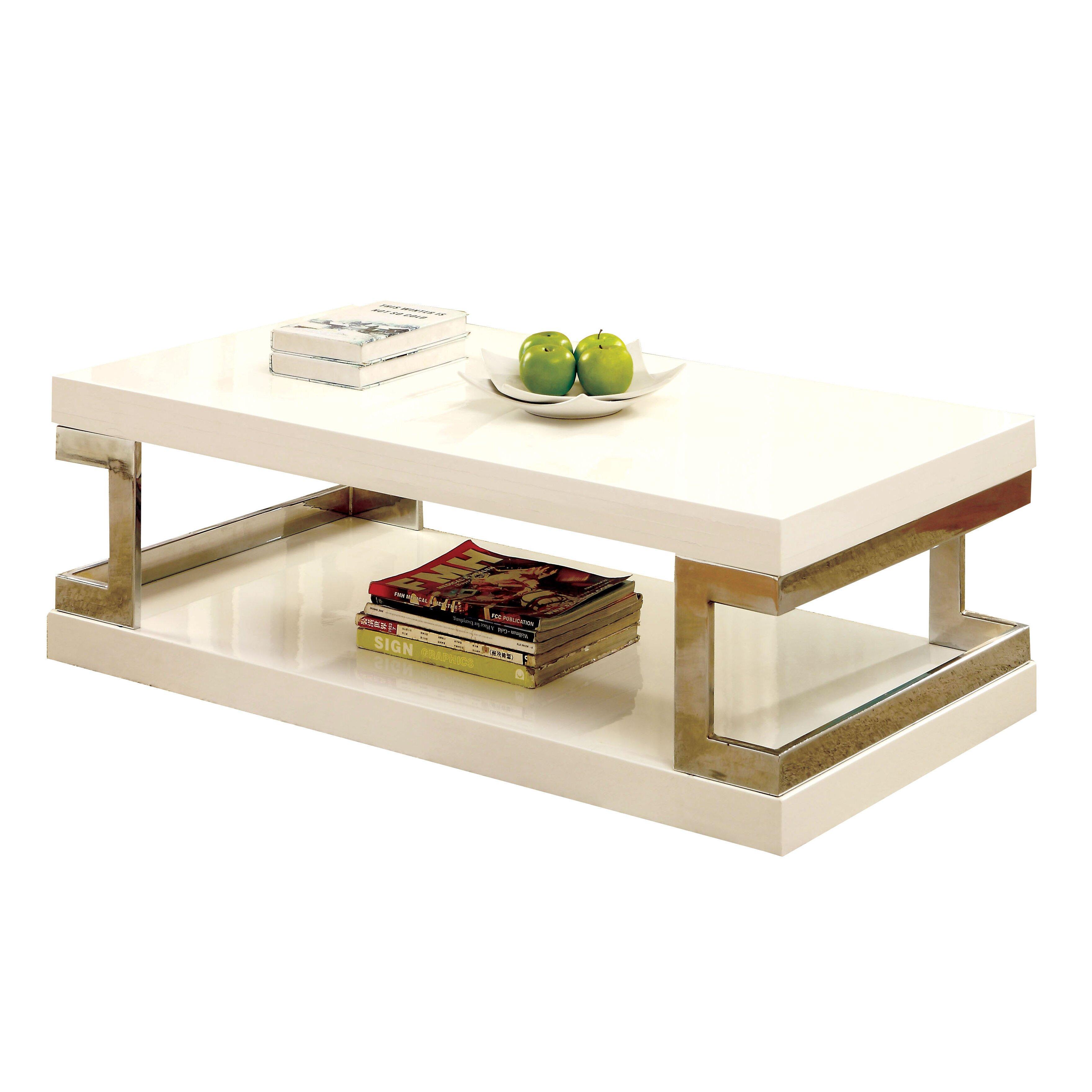 Hokku Designs Wright Coffee Table Reviews Wayfair