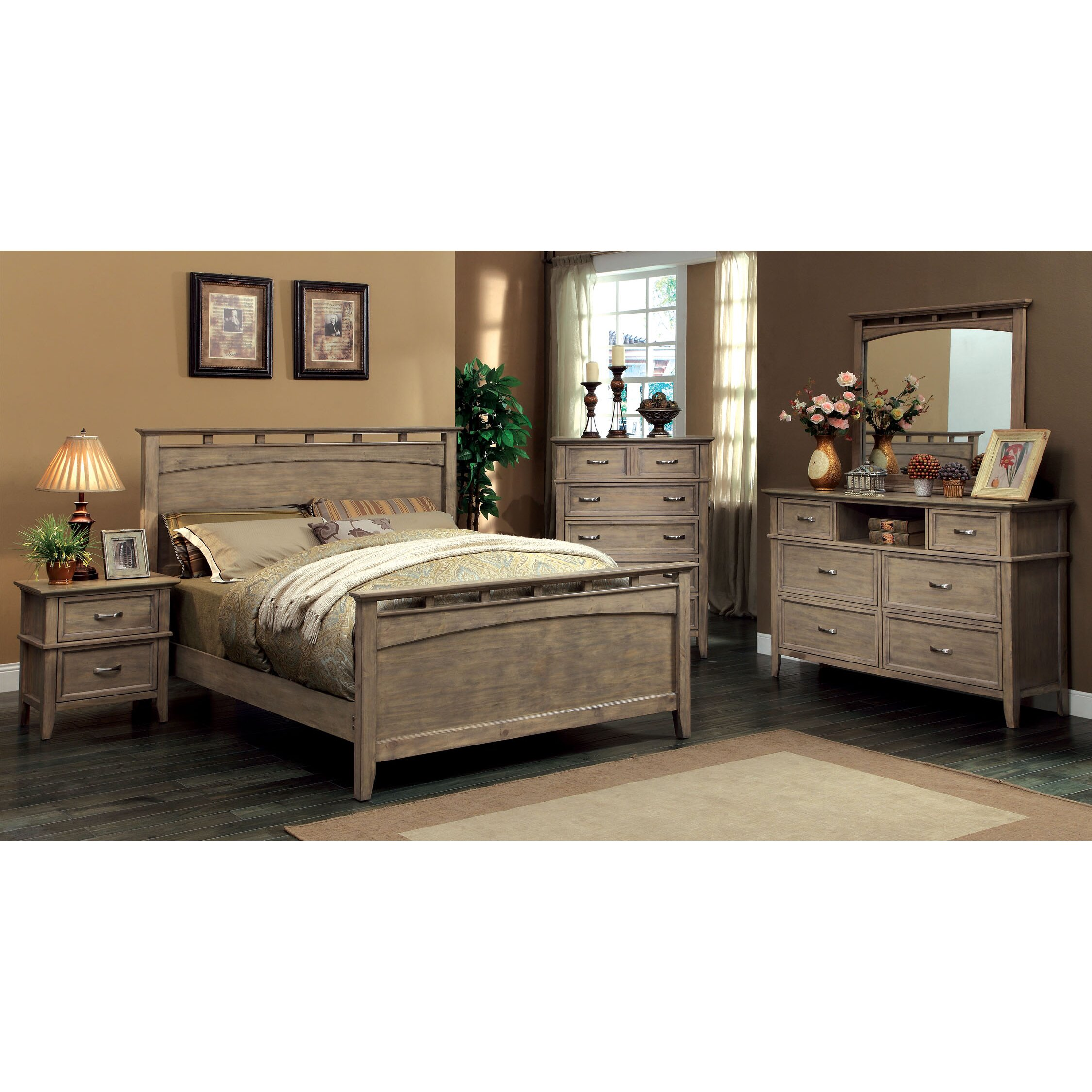 Hokku designs balboa panel bed reviews wayfair for Bedding styles 2014