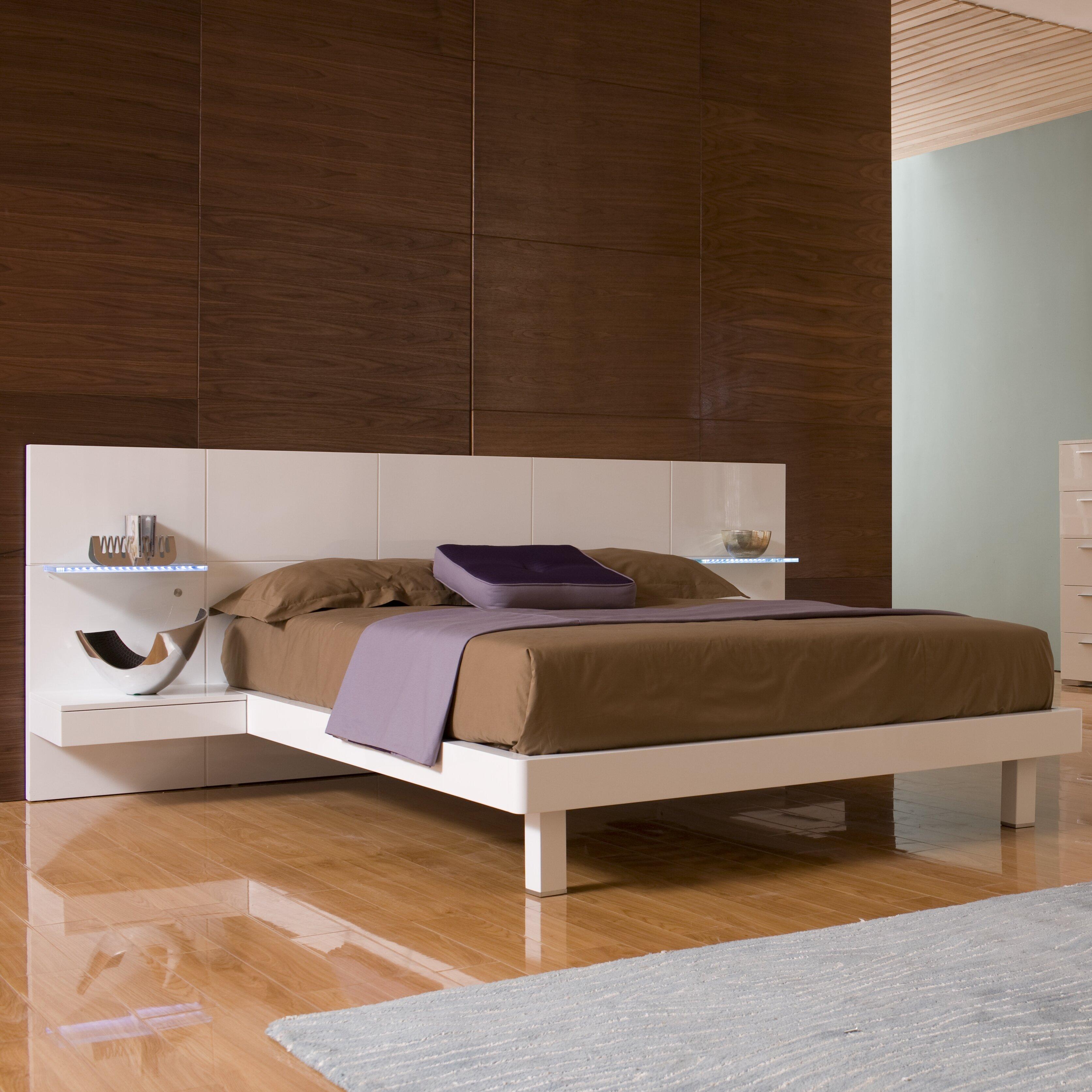 Hokku Designs Chico Platform Bed Amp Reviews Wayfair