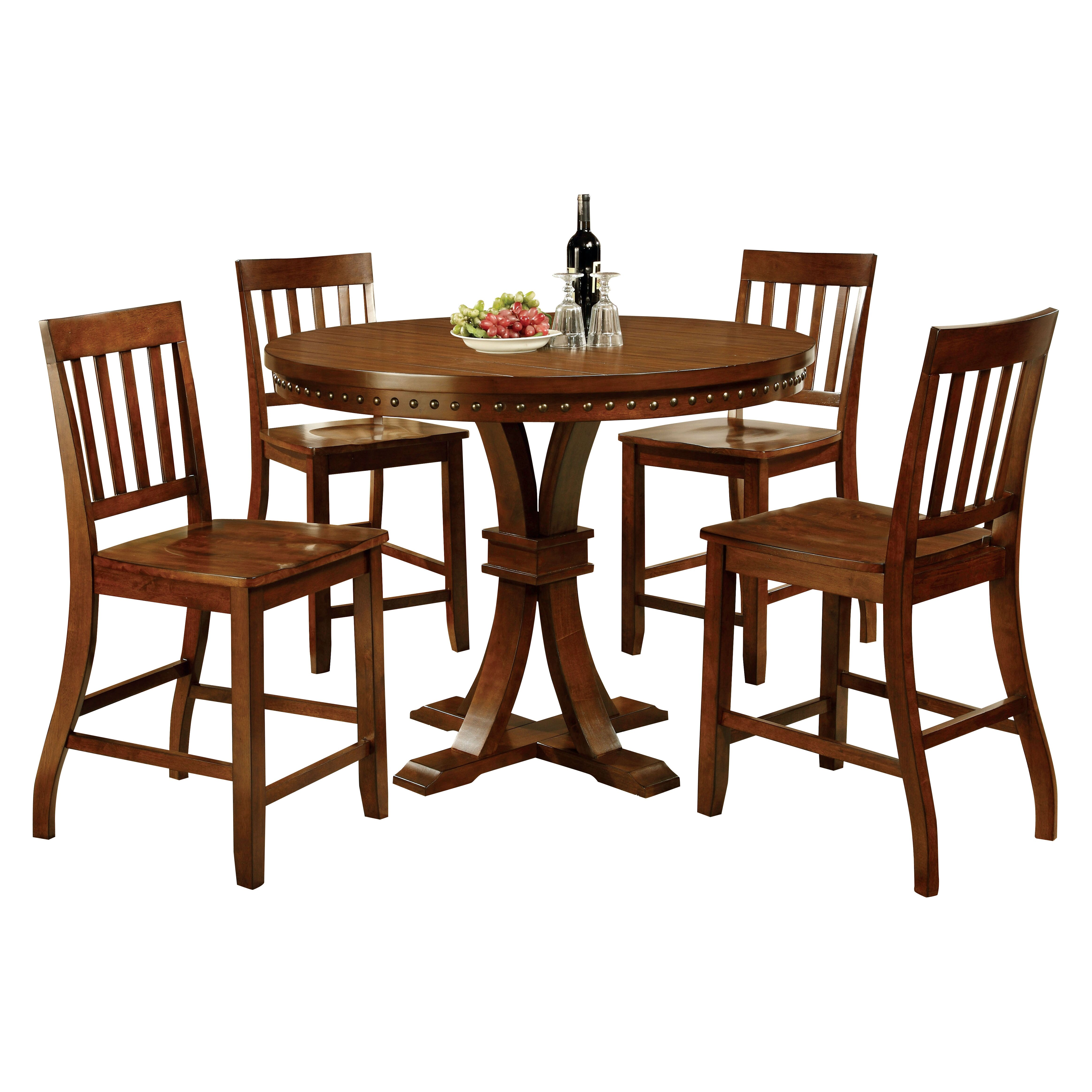 Hokku designs jared 5 piece dining set reviews Dining set design ideas