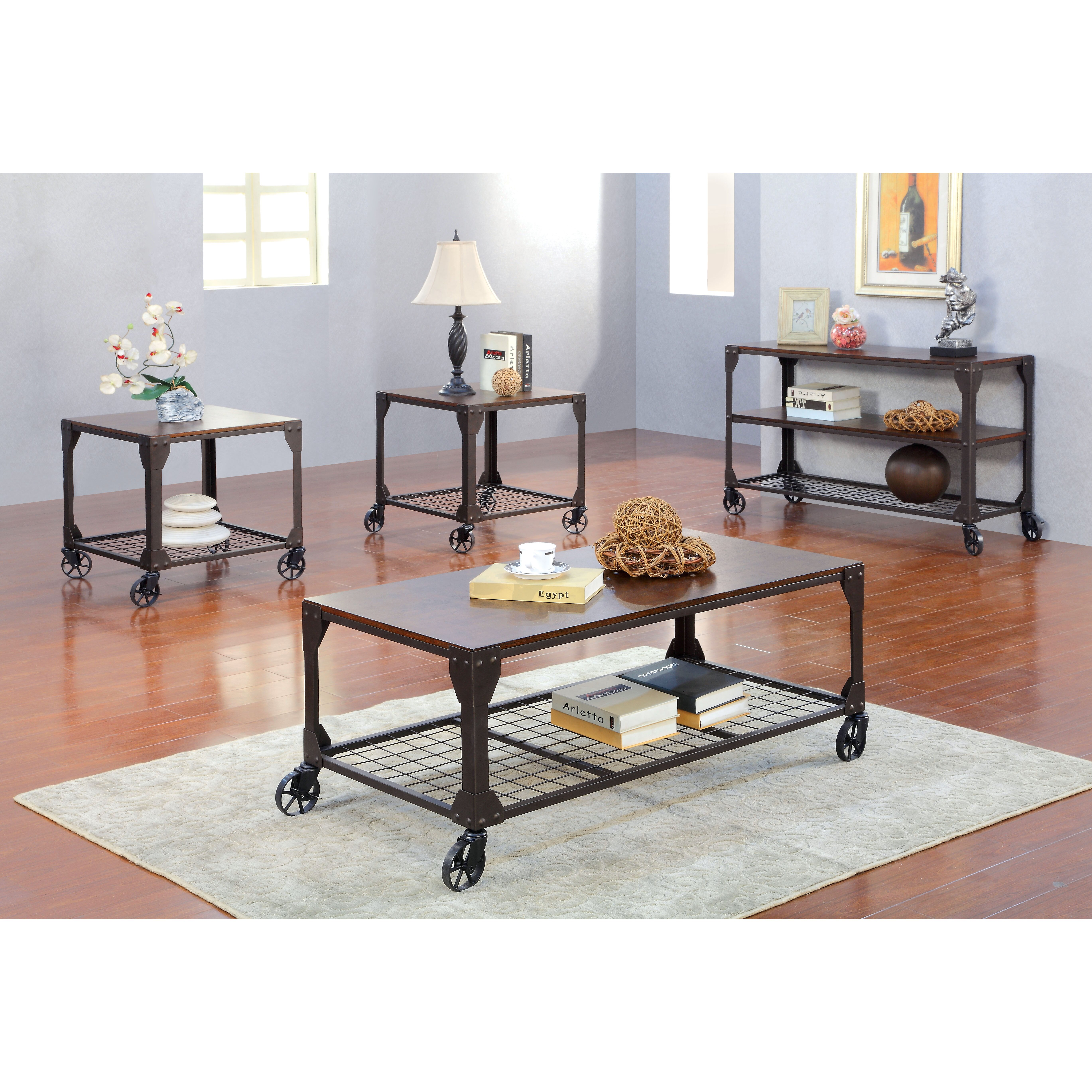 Hokku Coffee Table Sets: Hokku Designs Starke Coffee Table & Reviews