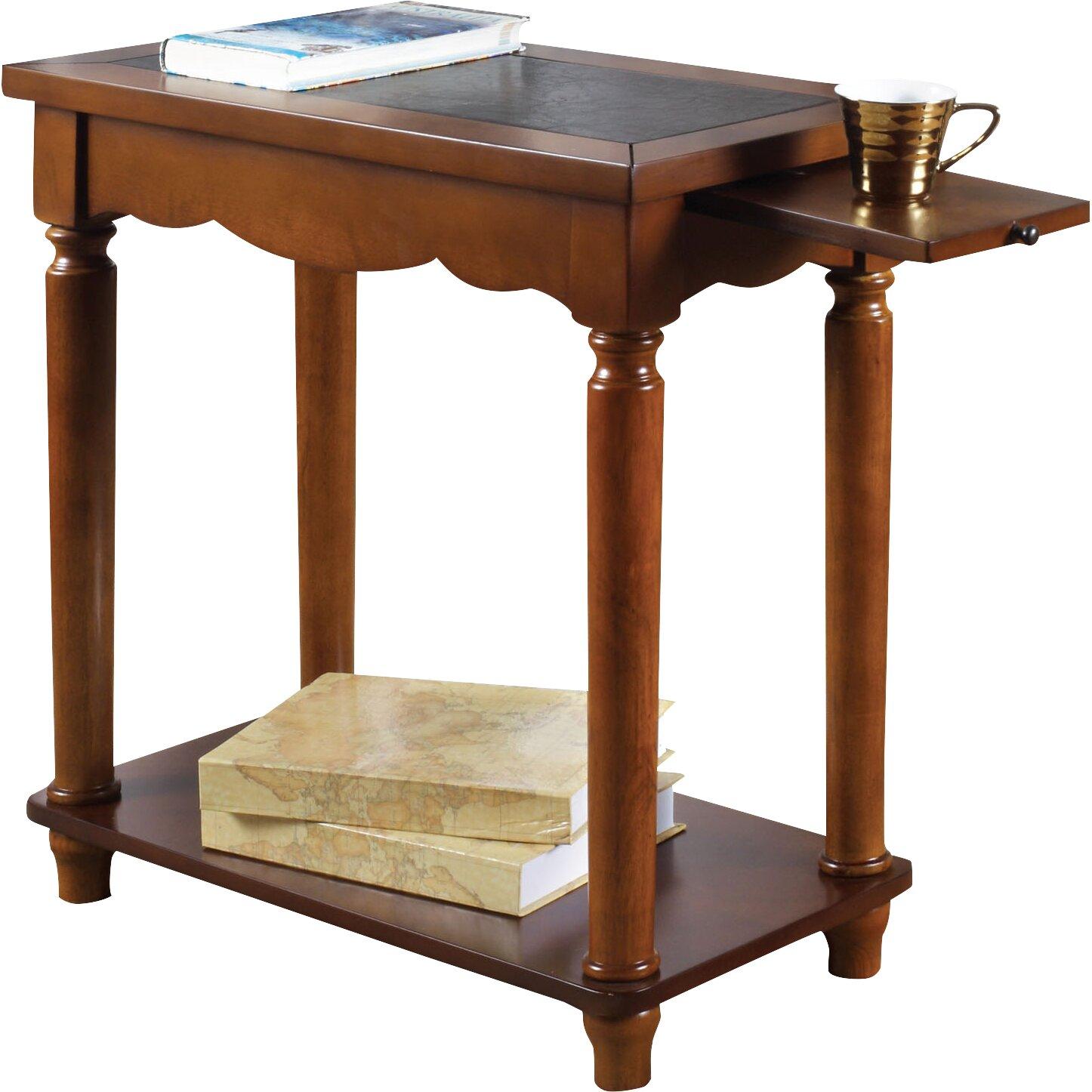 Side Table Designs ~ Hokku designs brahmse end table reviews wayfair