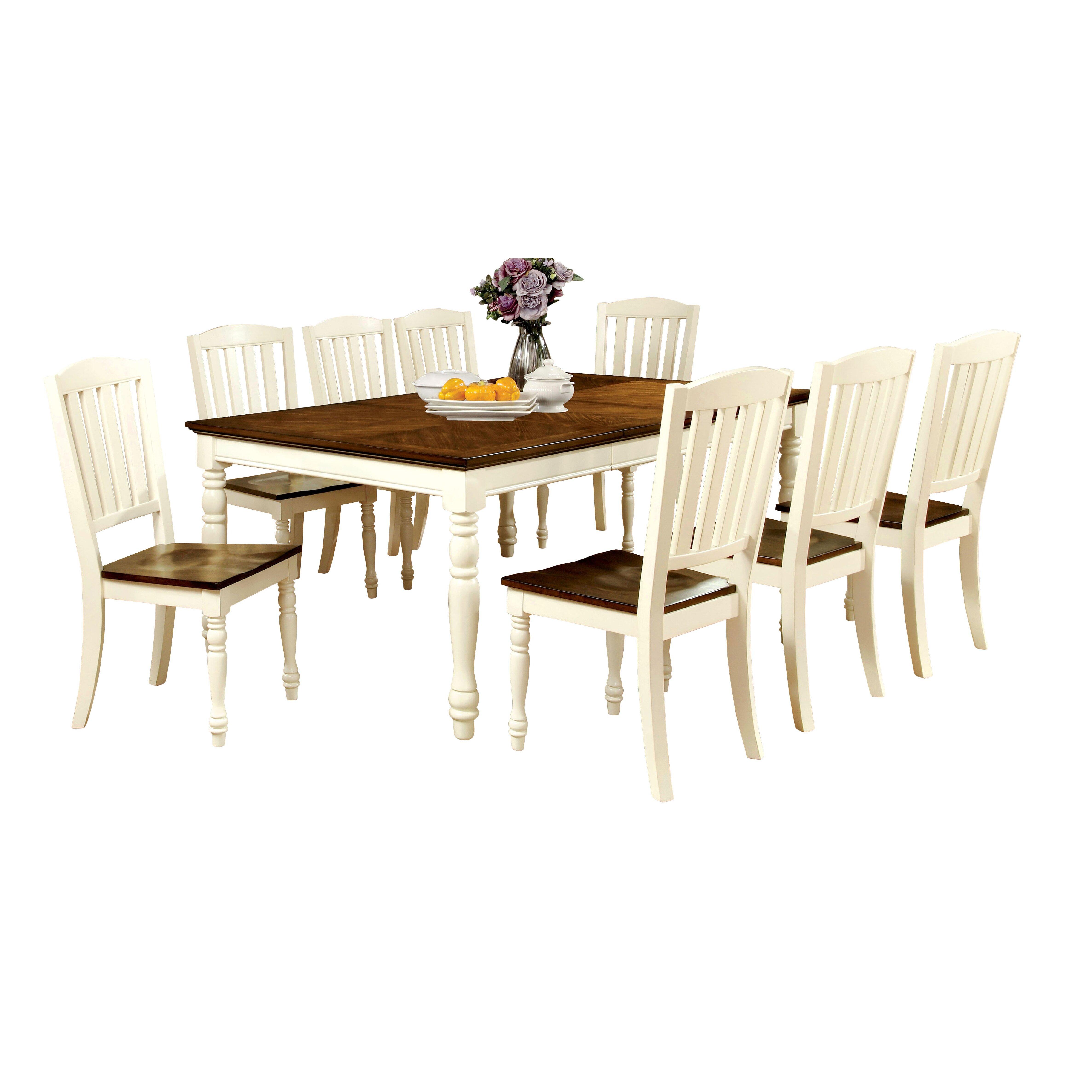 Hokku designs laureus 9 piece dining set reviews for Hokku designs dining room furniture