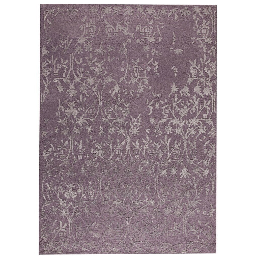 Xl Purple Rug: Hokku Designs Santoor Hand-Tufted Purple Area Rug