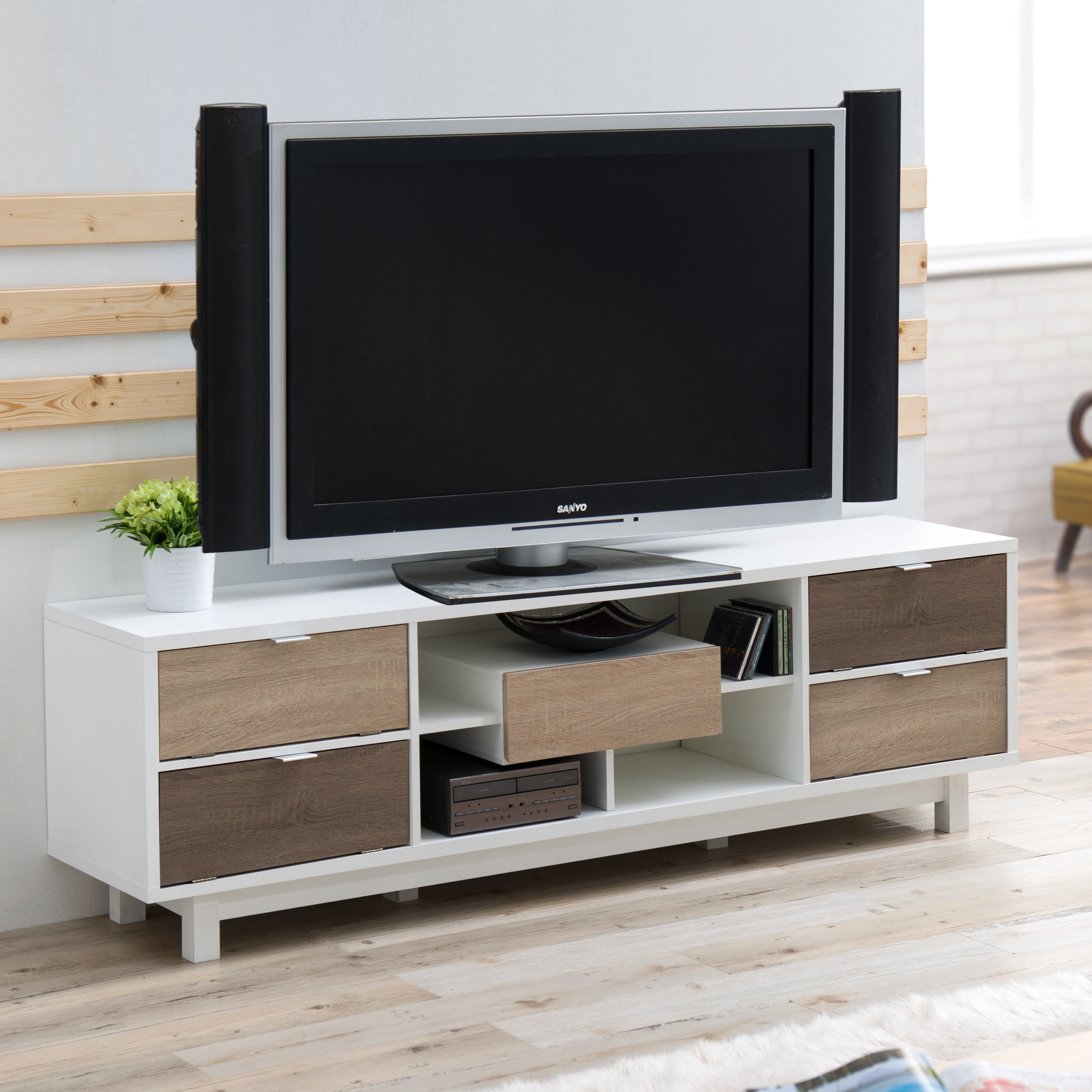 Hokku Designs Avada Tv Stand Reviews Wayfair