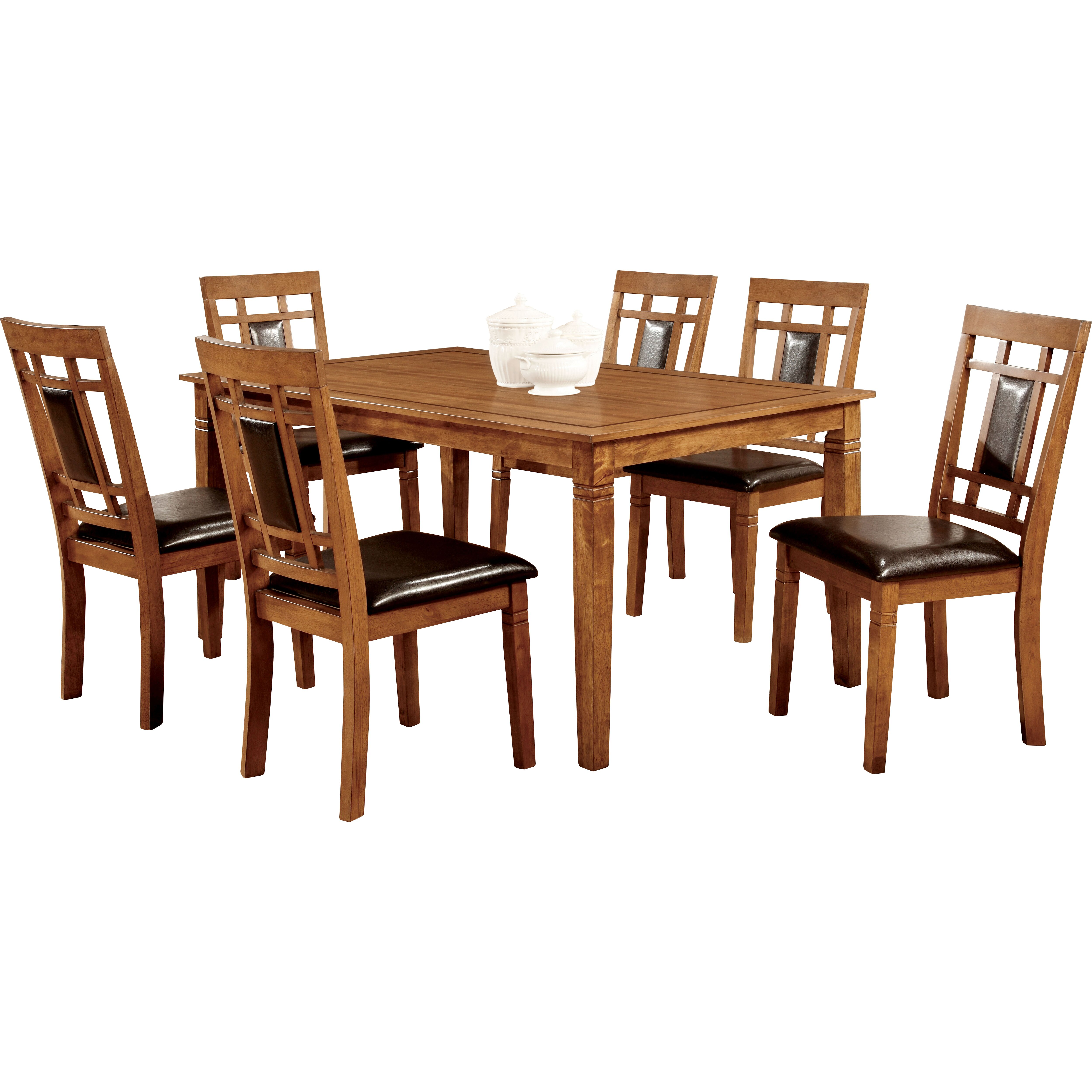 Hokku designs molina 7 piece dining set reviews wayfair Dining set design ideas