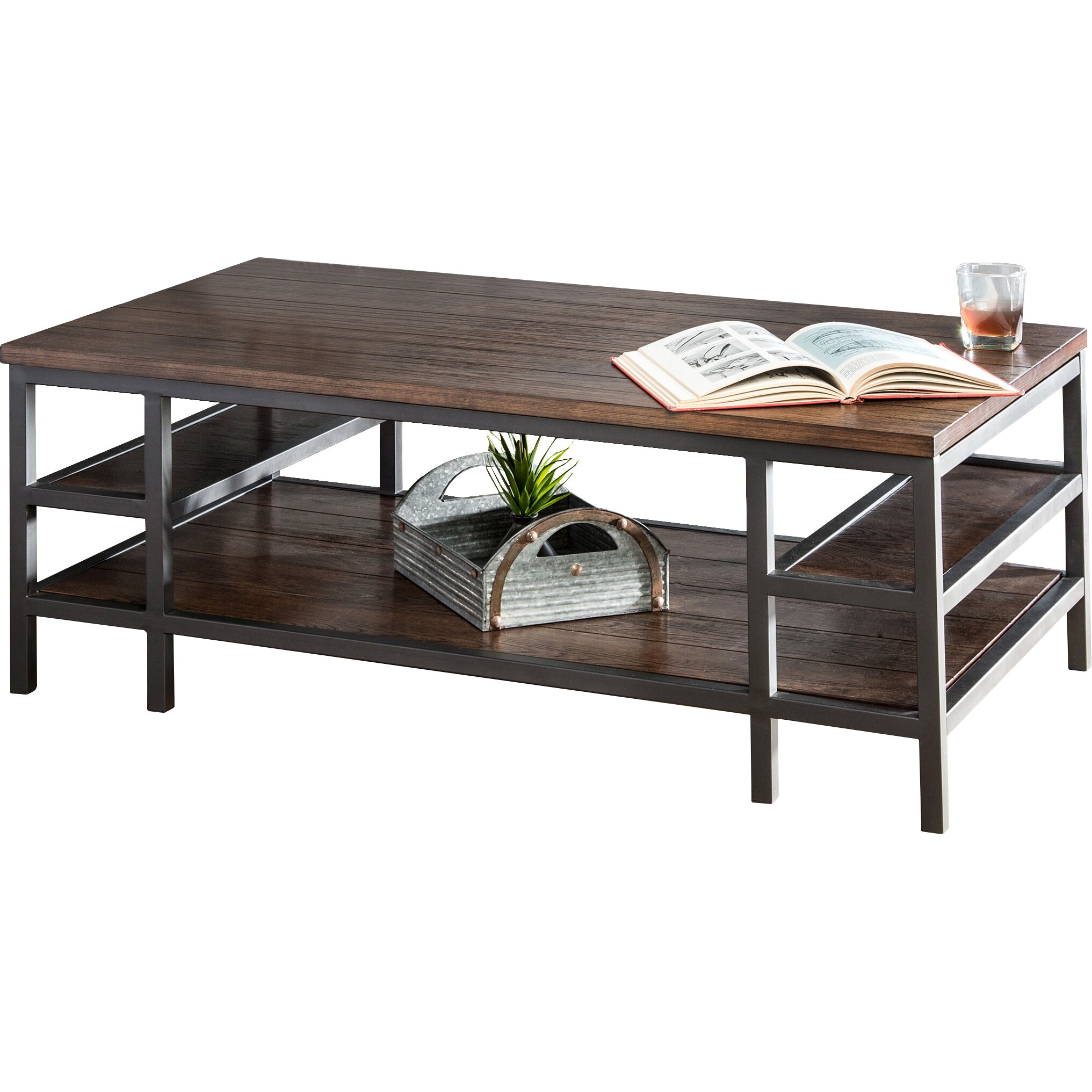 hokku designs kizan coffee table reviews wayfair. Black Bedroom Furniture Sets. Home Design Ideas