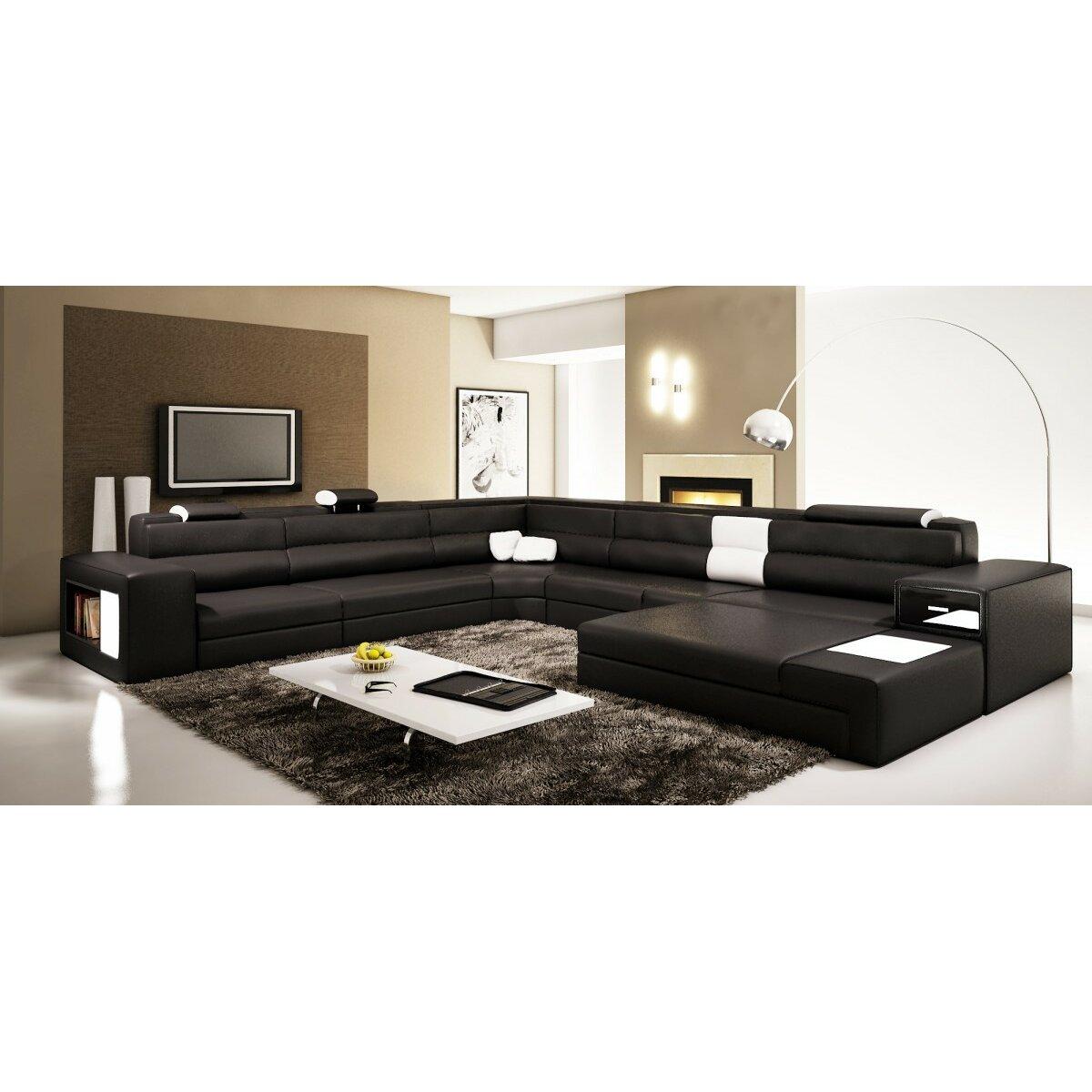 Hokku designs camden sectional wayfair for Hokku designs living room furniture