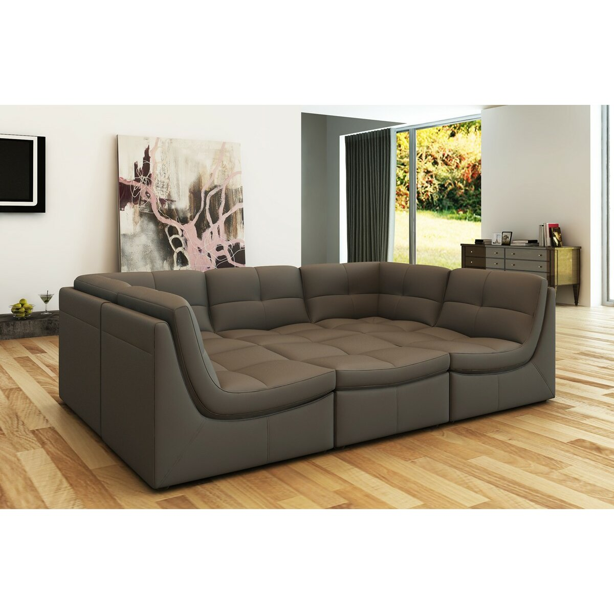 Hokku Designs Monaco Modular Sectional Reviews Wayfair