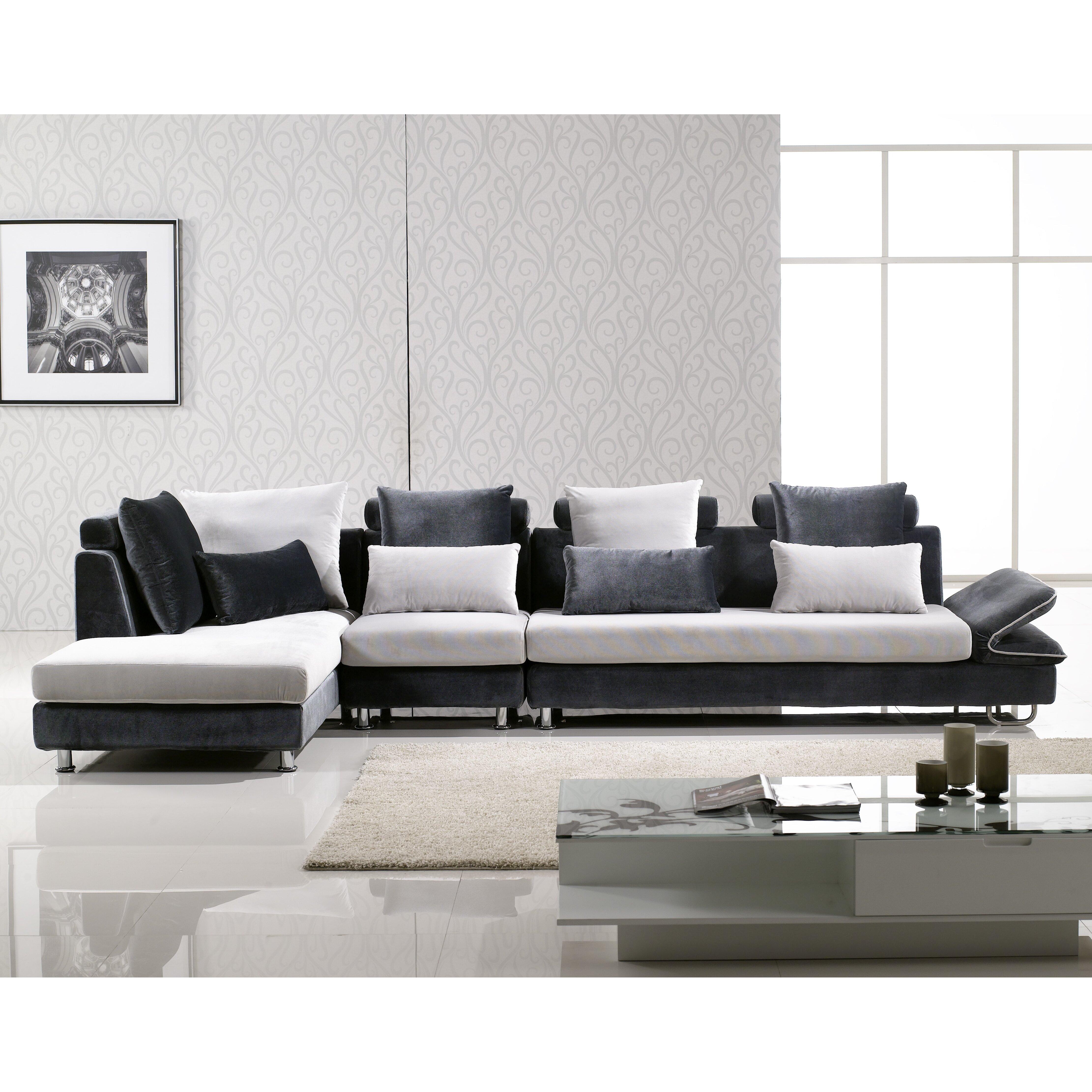 Hokku designs uptown sectional reviews wayfair for Hokku designs living room furniture