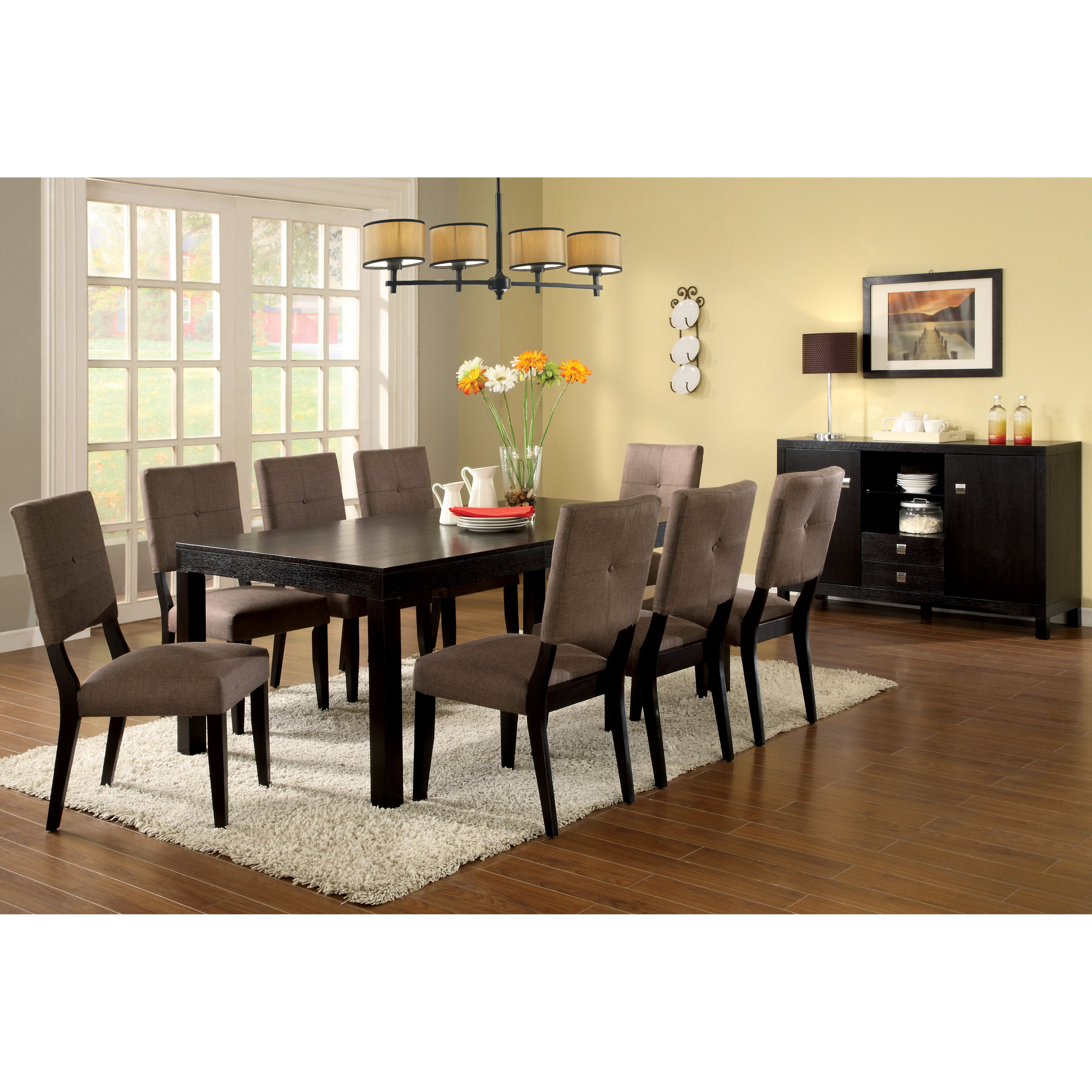 Hokku designs sideboard in espresso reviews wayfair for Hokku designs dining room furniture
