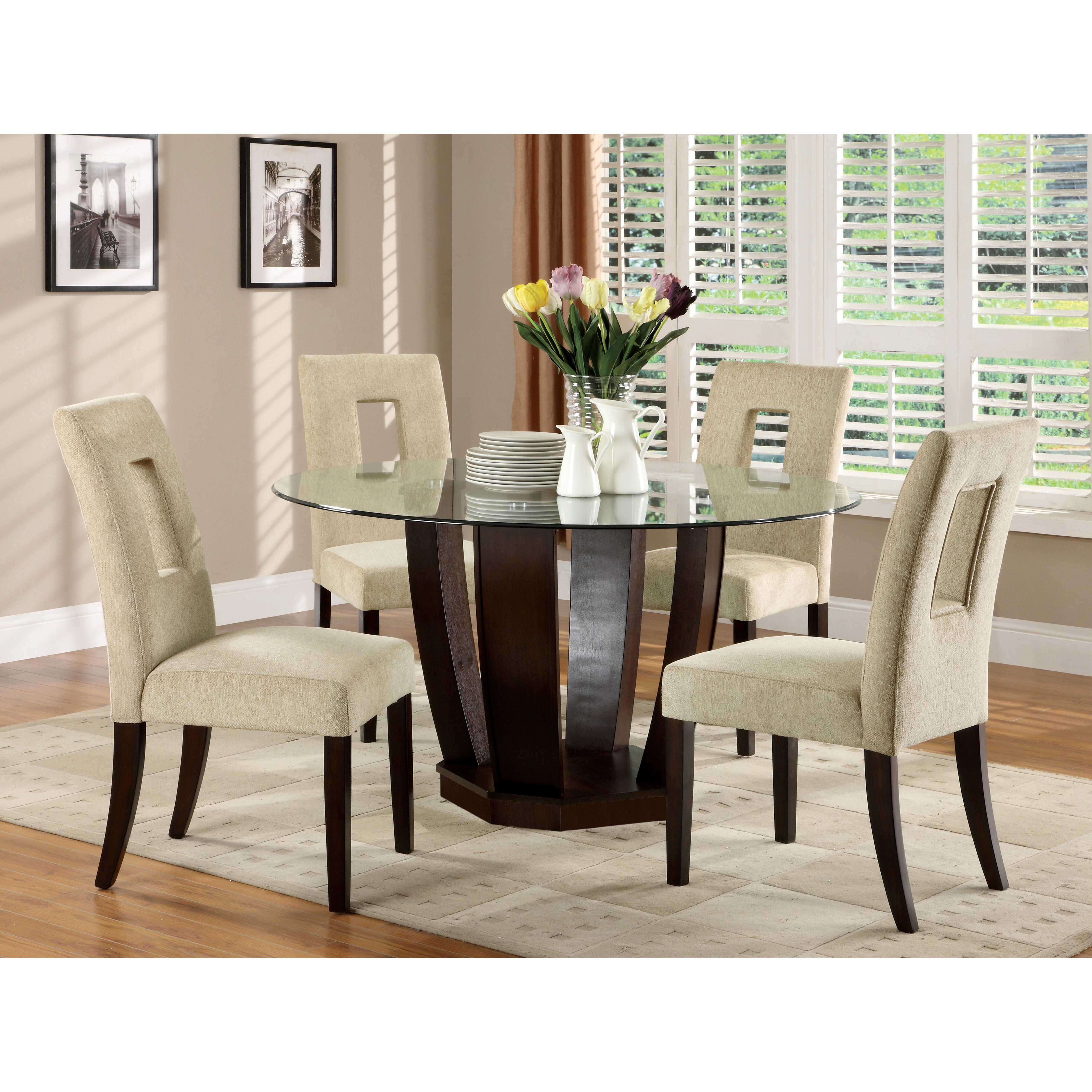 Hokku designs catina 5 piece dining set reviews wayfair for Hokku designs dining room furniture