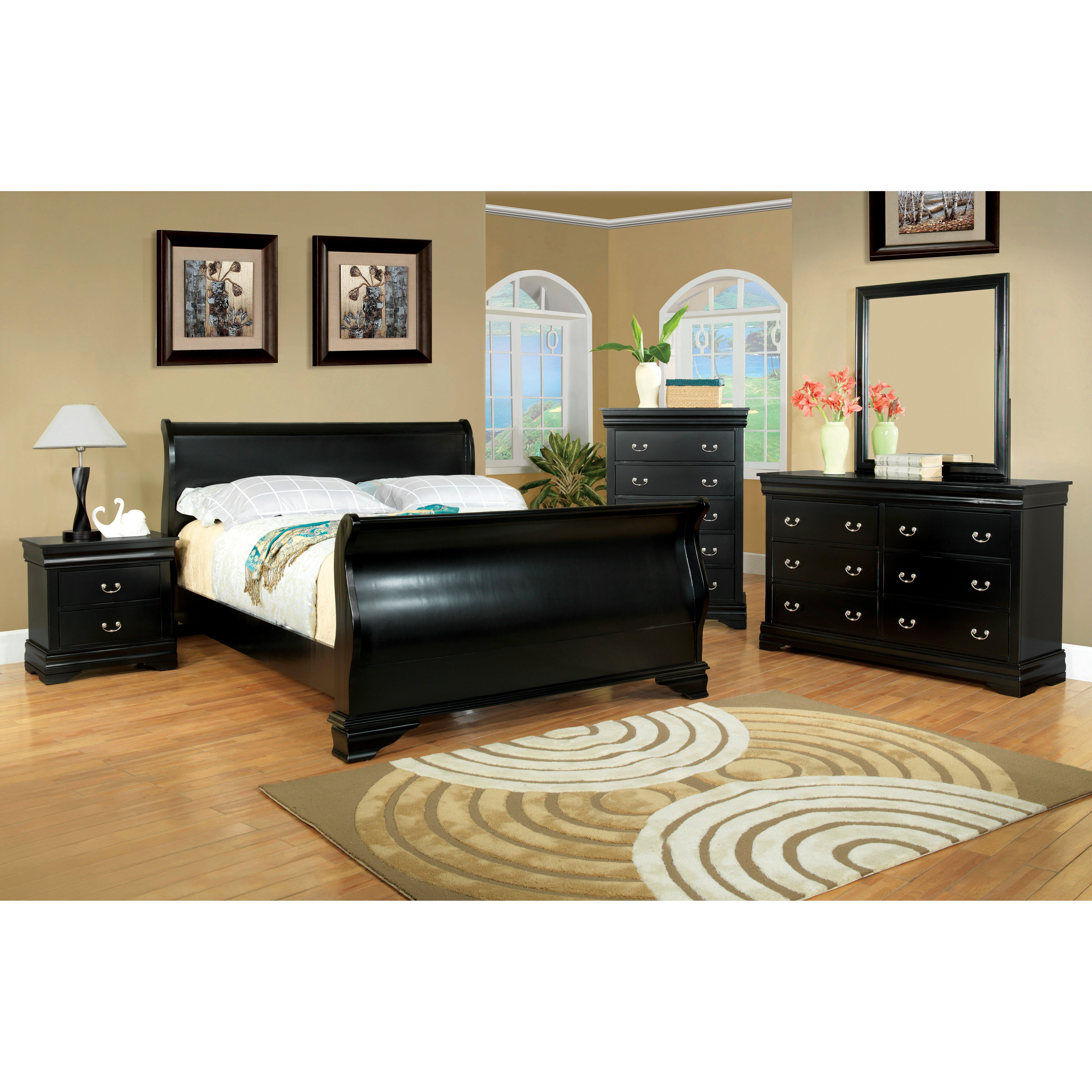 Hokku designs preston sleigh customizable bedroom set reviews wayfair Bedroom furniture preston
