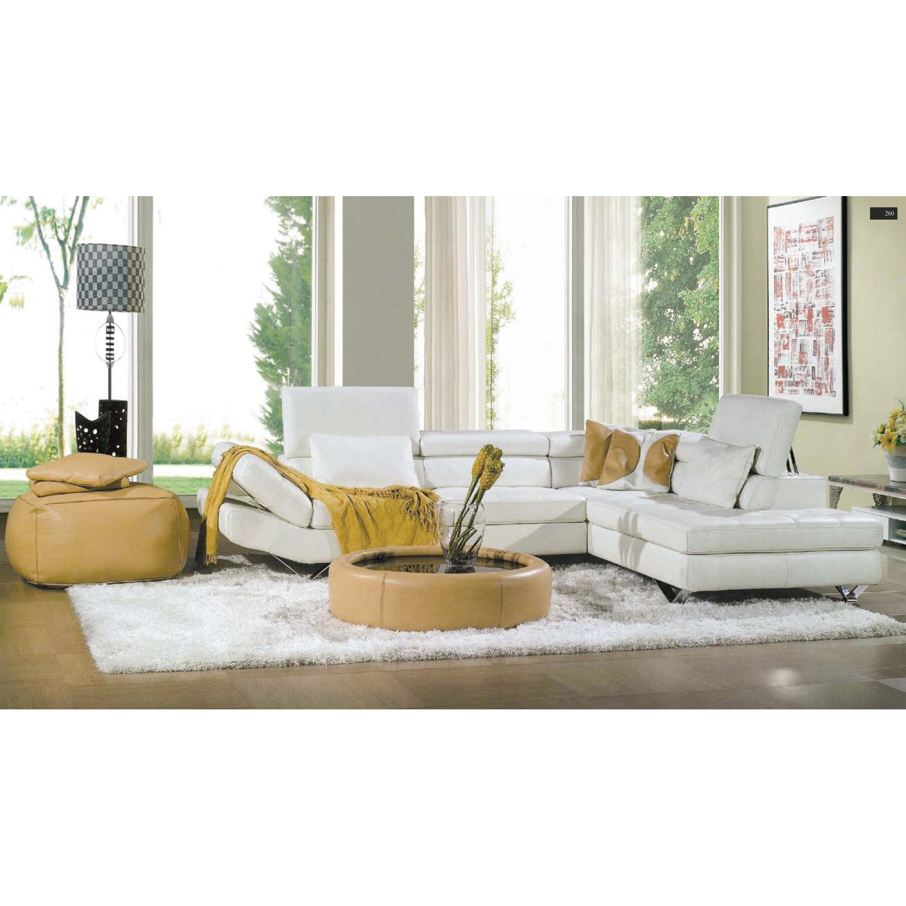 Hokku designs reims sectional reviews for Hokku designs living room furniture