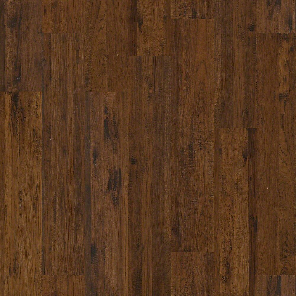 Shaw floors gilbert 8 solid hickory hardwood flooring in for Hardwood floors hickory