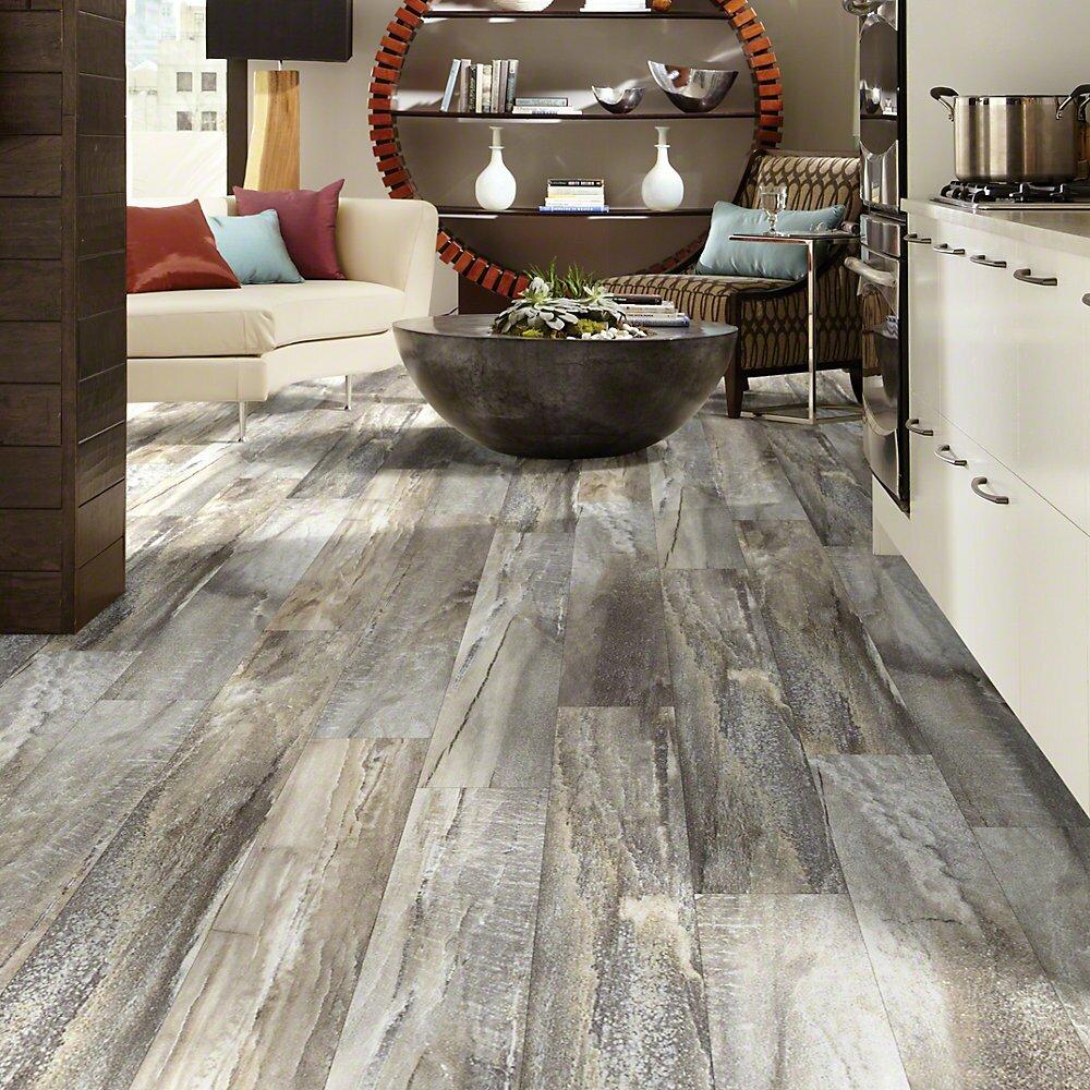Shaw floors easy style elemental supreme 6 x 36 x 4mm for Casa moderna black walnut luxury vinyl plank