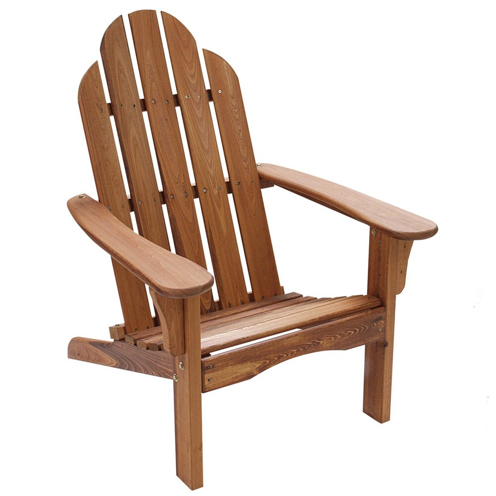 String Light Co Wood Adirondack Chair Reviews Wayfair