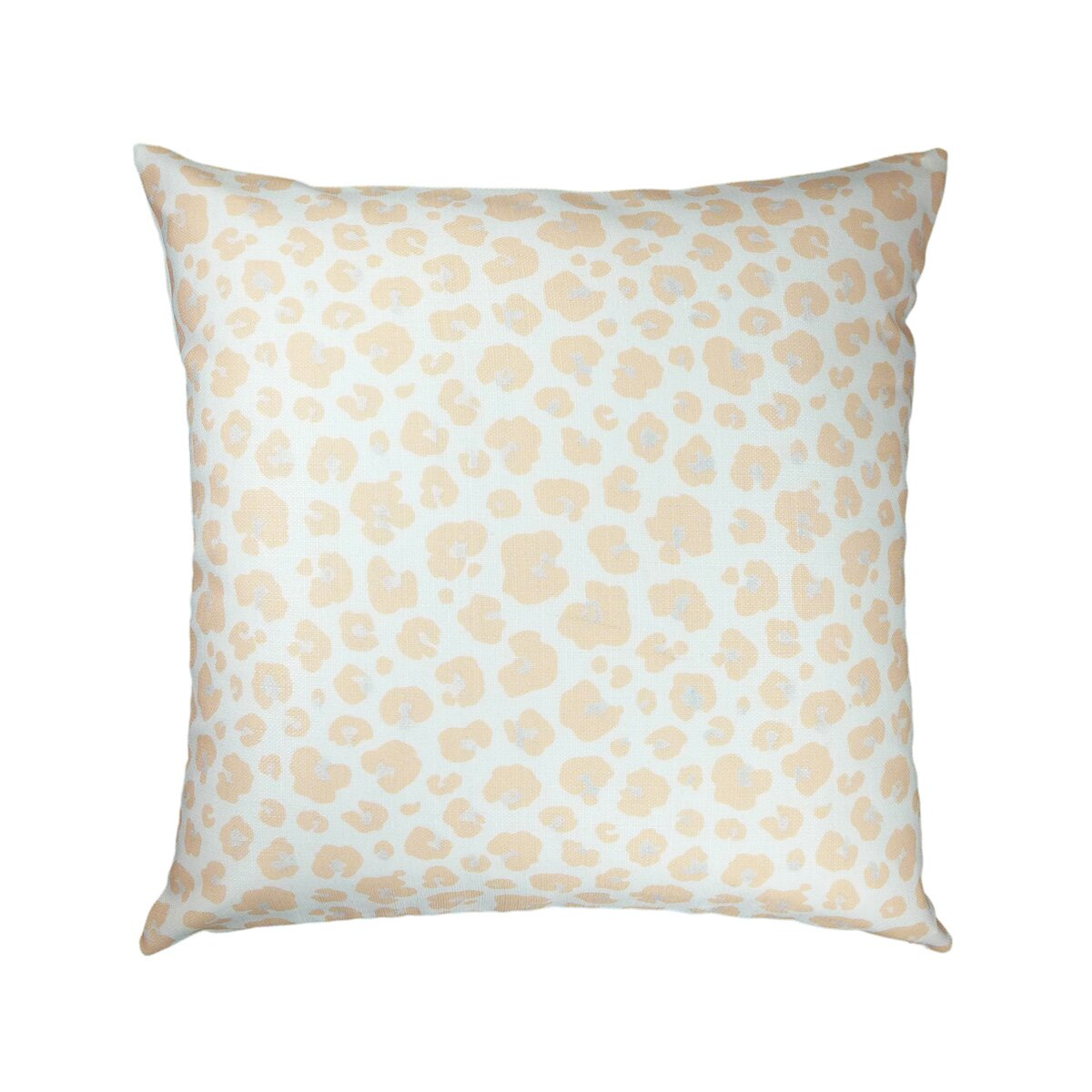 NECTARmodern Animal Print Zebra/Leopard Peach Throw Pillow & Reviews Wayfair