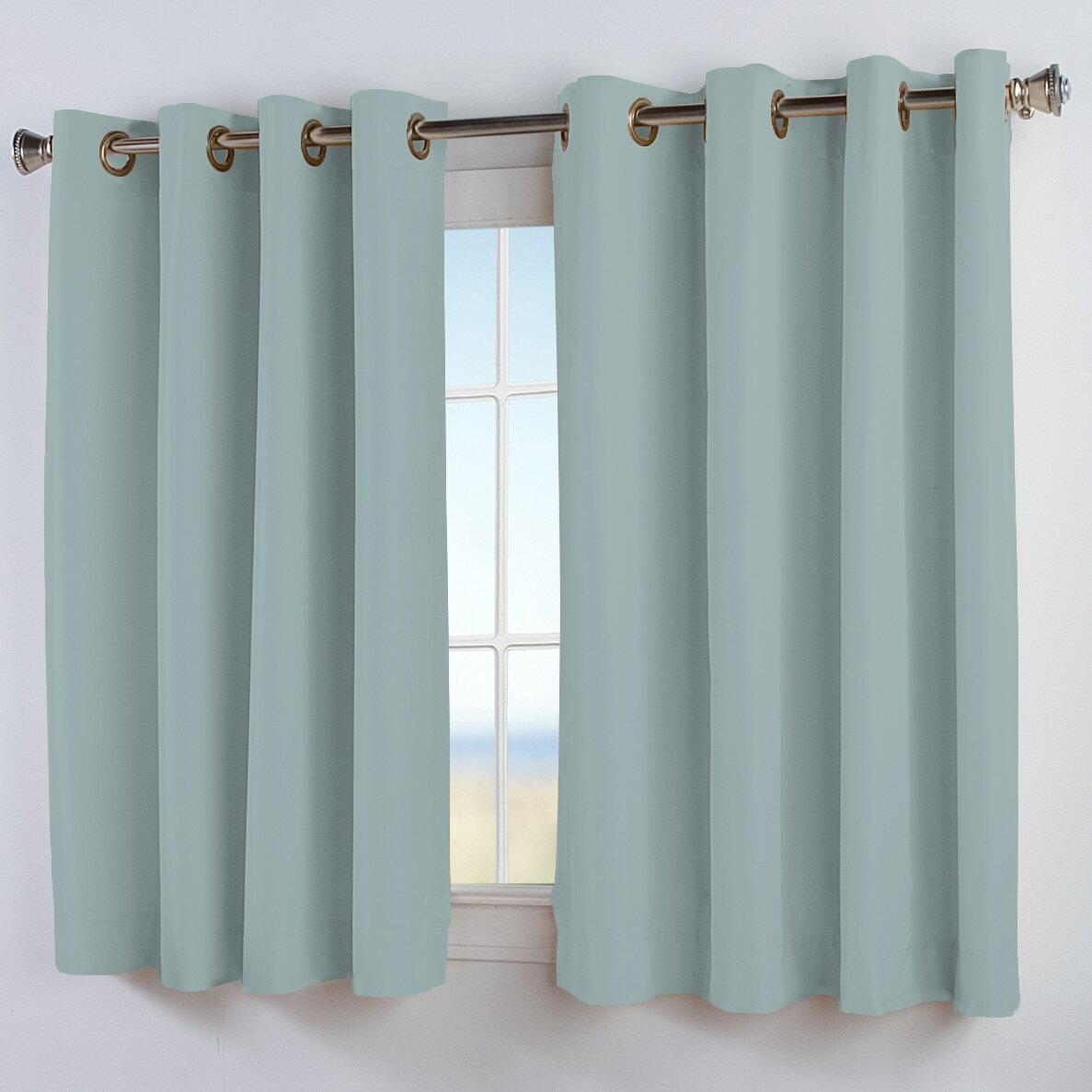 Ricardo Trading Elegance Insulated Short Single Curtain
