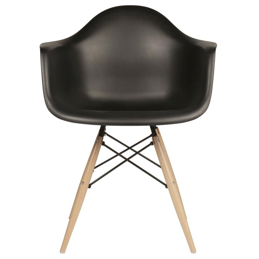Emodern decor mid century modern scandinavian arm chair for Decorative armchair