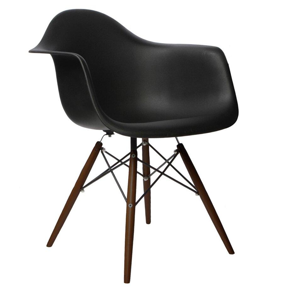 Emodern decor scandinavian arm chair reviews wayfair for Emodern decor