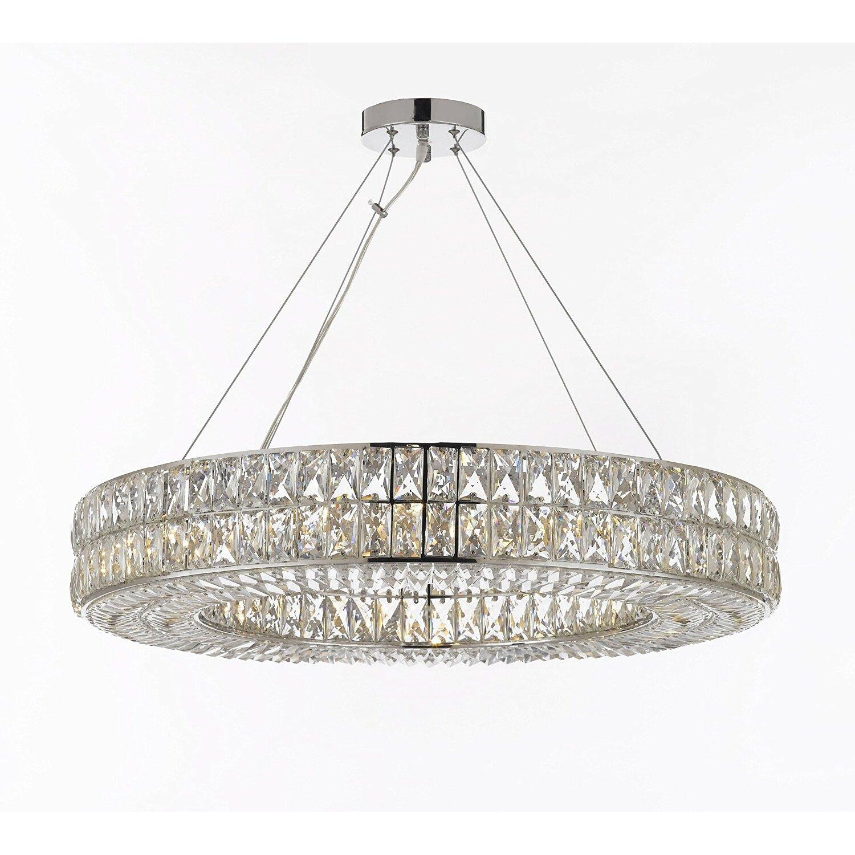Harrison Lane Spiridon Ring 16 Light Crystal Chandelier