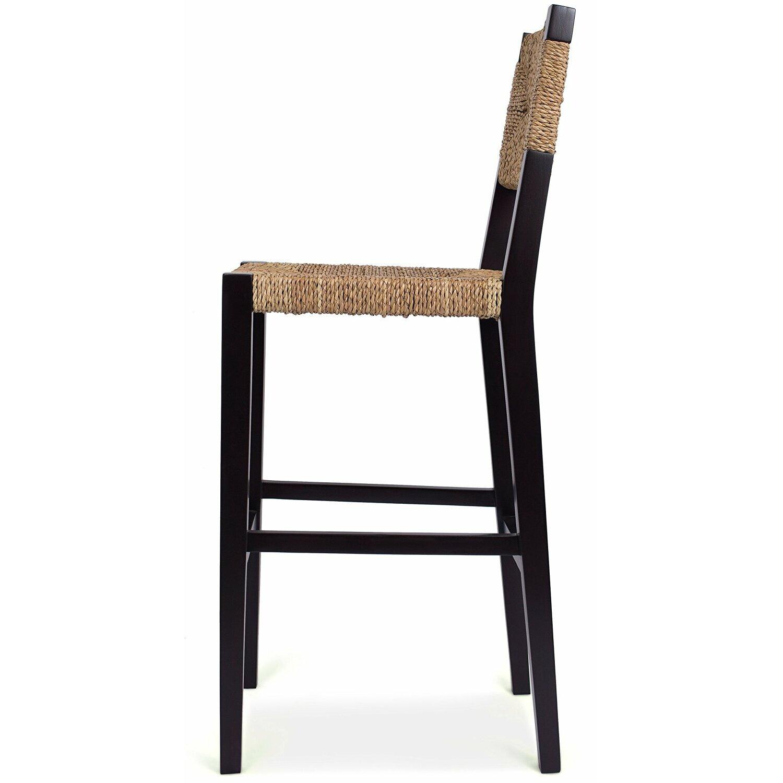 Birdrock Home Rush Weave 30 Quot Bar Height Bar Stool Wayfair