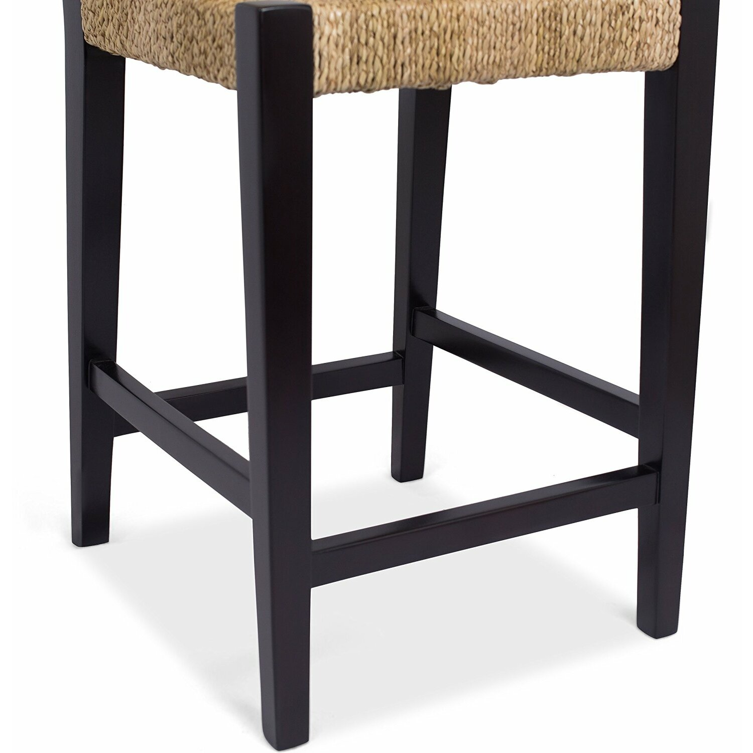 birdrock home rush weave 24 counter height bar stool