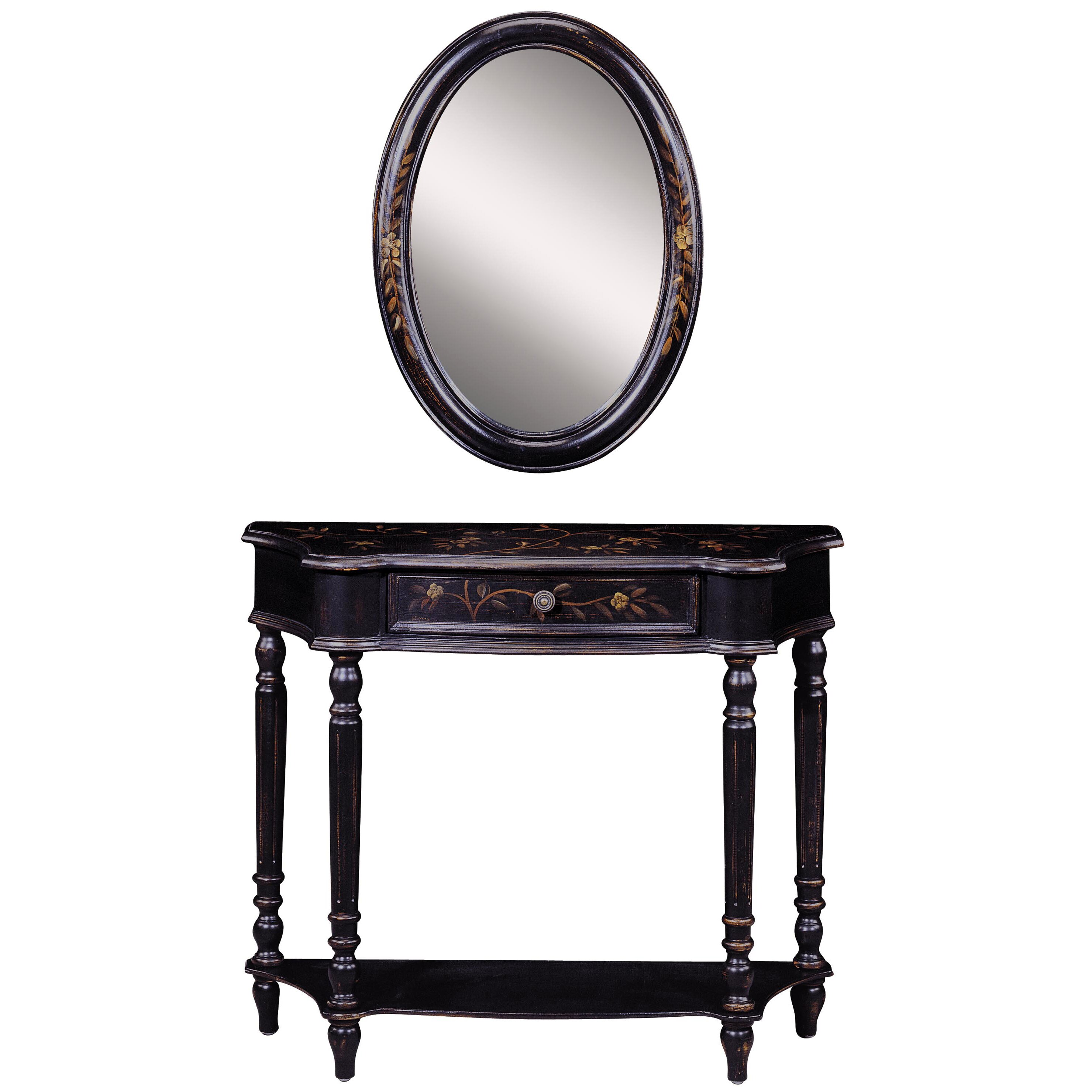 Stein World Maribeth Console Table And Mirror Set