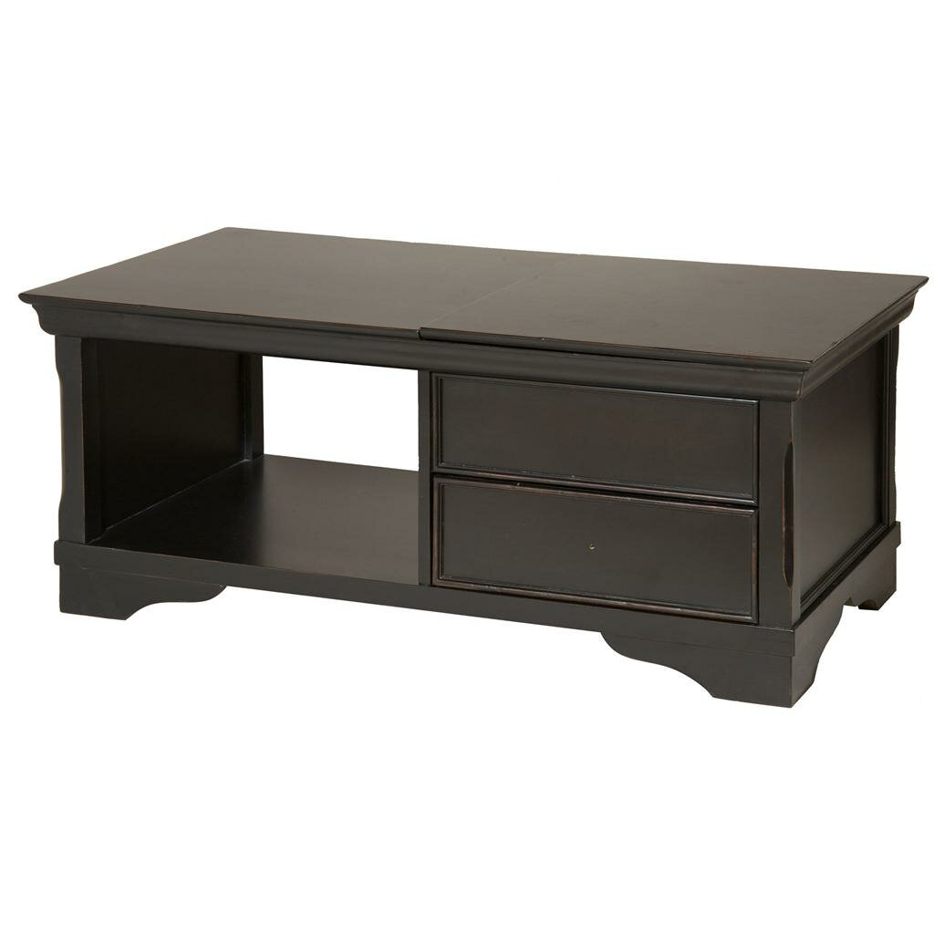 Stein World Orleans Coffee Table With Lift Top Wayfair