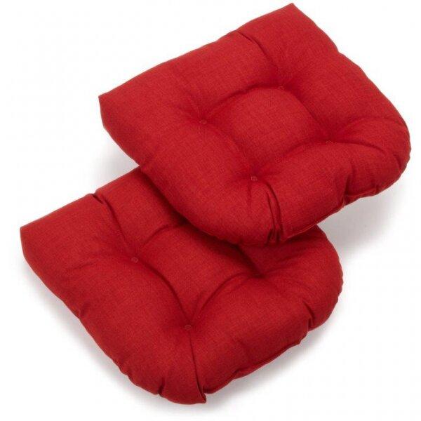 Blazing Needles Patio Outdoor Rocking Chair Cushion & Reviews