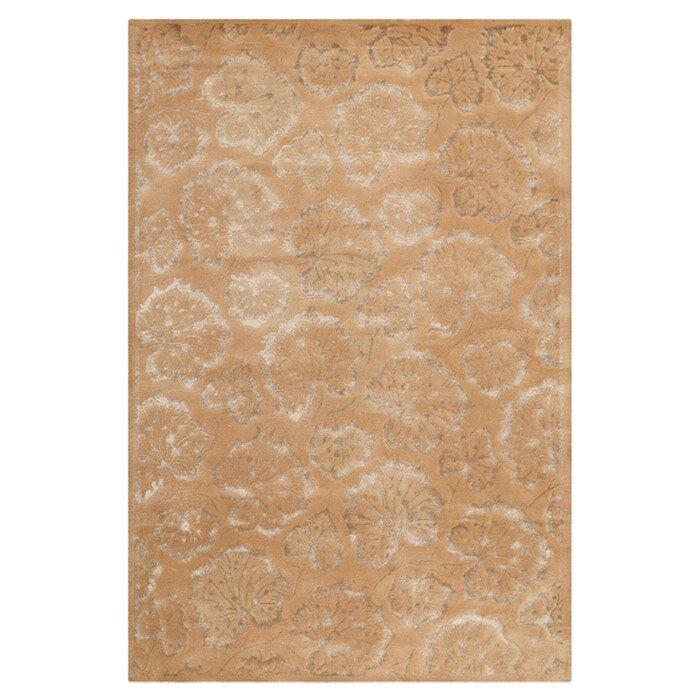 Martha Stewart Rugs Geranium Leaf Toffee Area Rug Reviews Wayfair