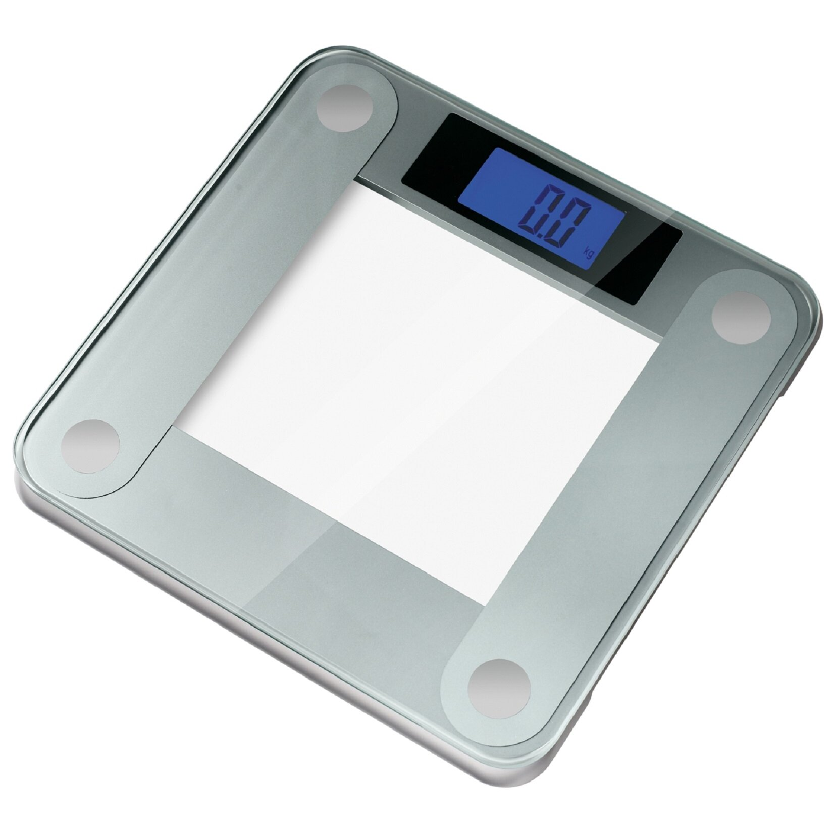 Ozeri Precision Ii Digital Bathroom Scale 440 Lbs Capacity With Weight Change Detection