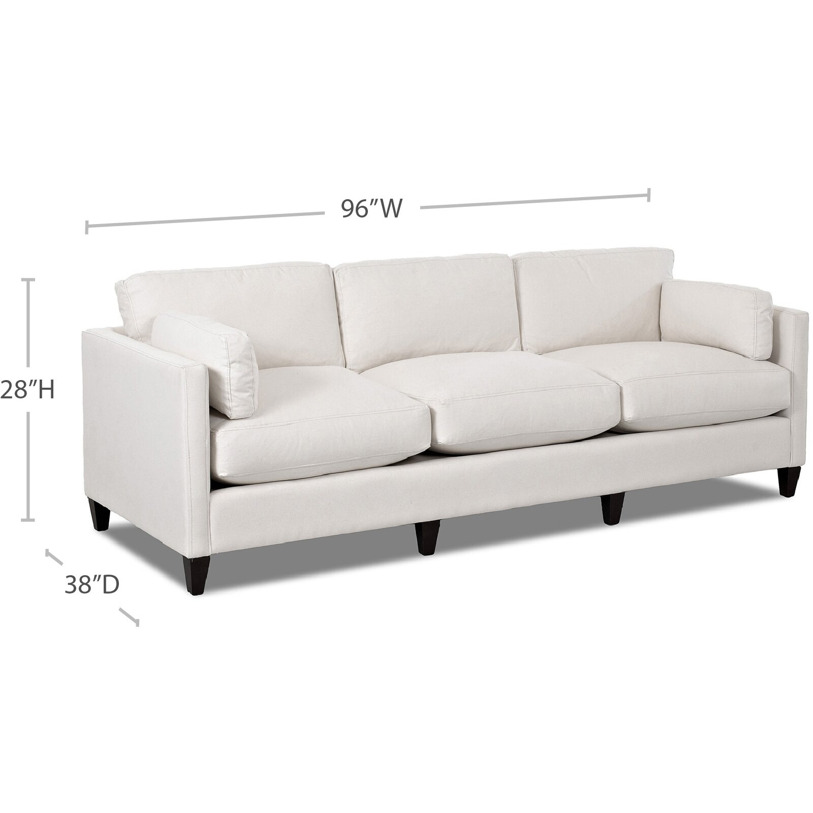 Wayfair Custom Upholstery Caroline Sofa Reviews Wayfair