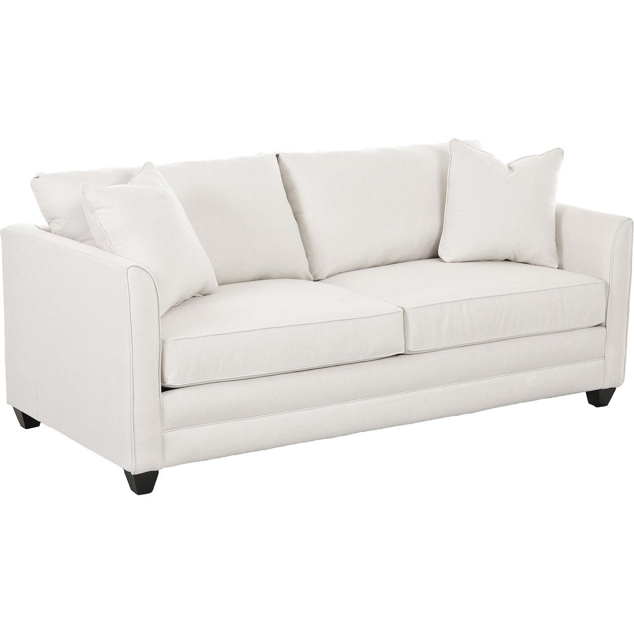 Wayfair custom upholstery sarah sleeper sofa reviews for White sectional sofa wayfair