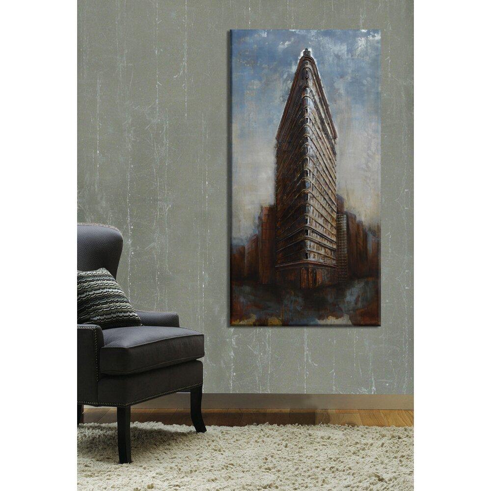 Benjamin Parker Galleries At The Corner Of Metal Wall Art