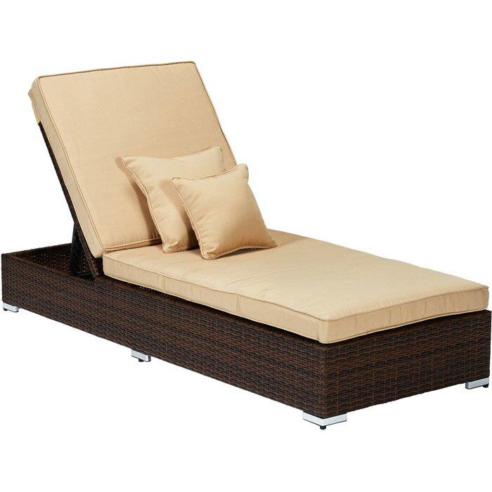 Thy-Hom Monaco 3 Piece Lounge Seating Group with Cushions u0026 Reviews : Wayfair.ca