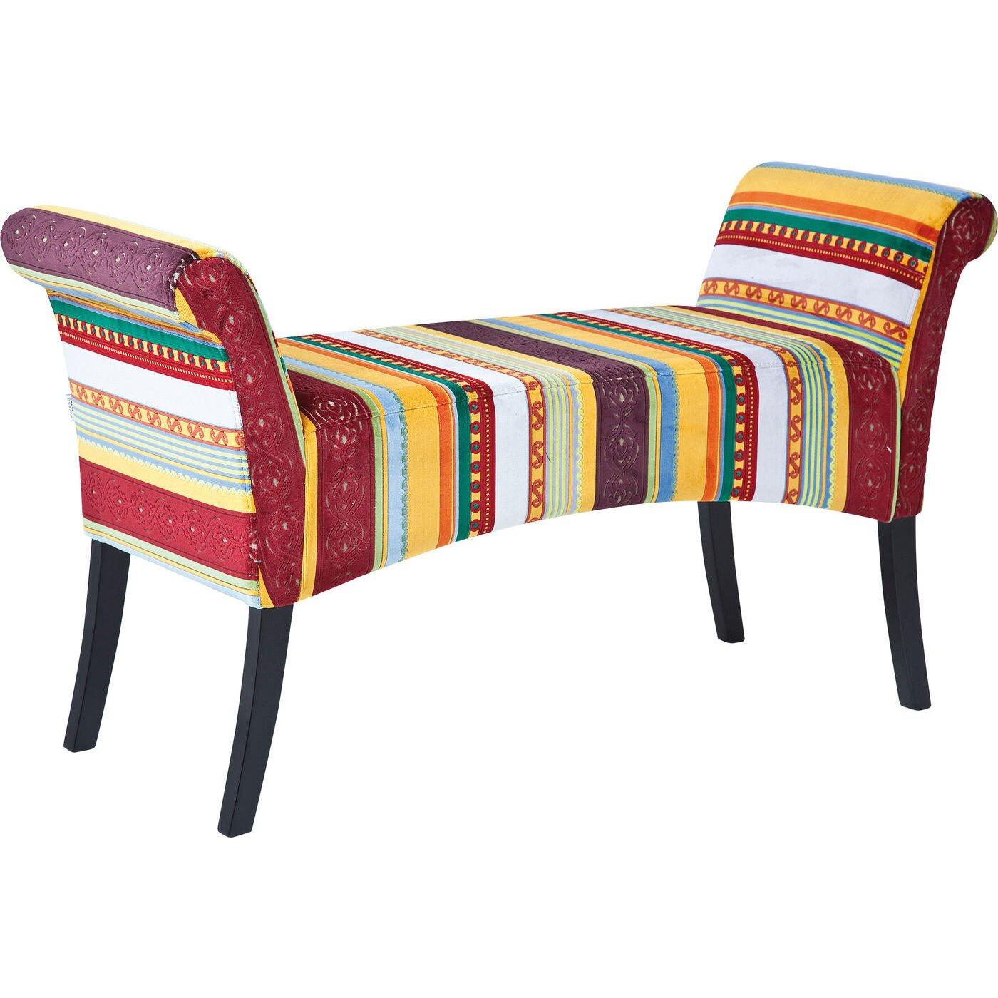 kare design gepolsterte schlafzimmerbank motley very. Black Bedroom Furniture Sets. Home Design Ideas