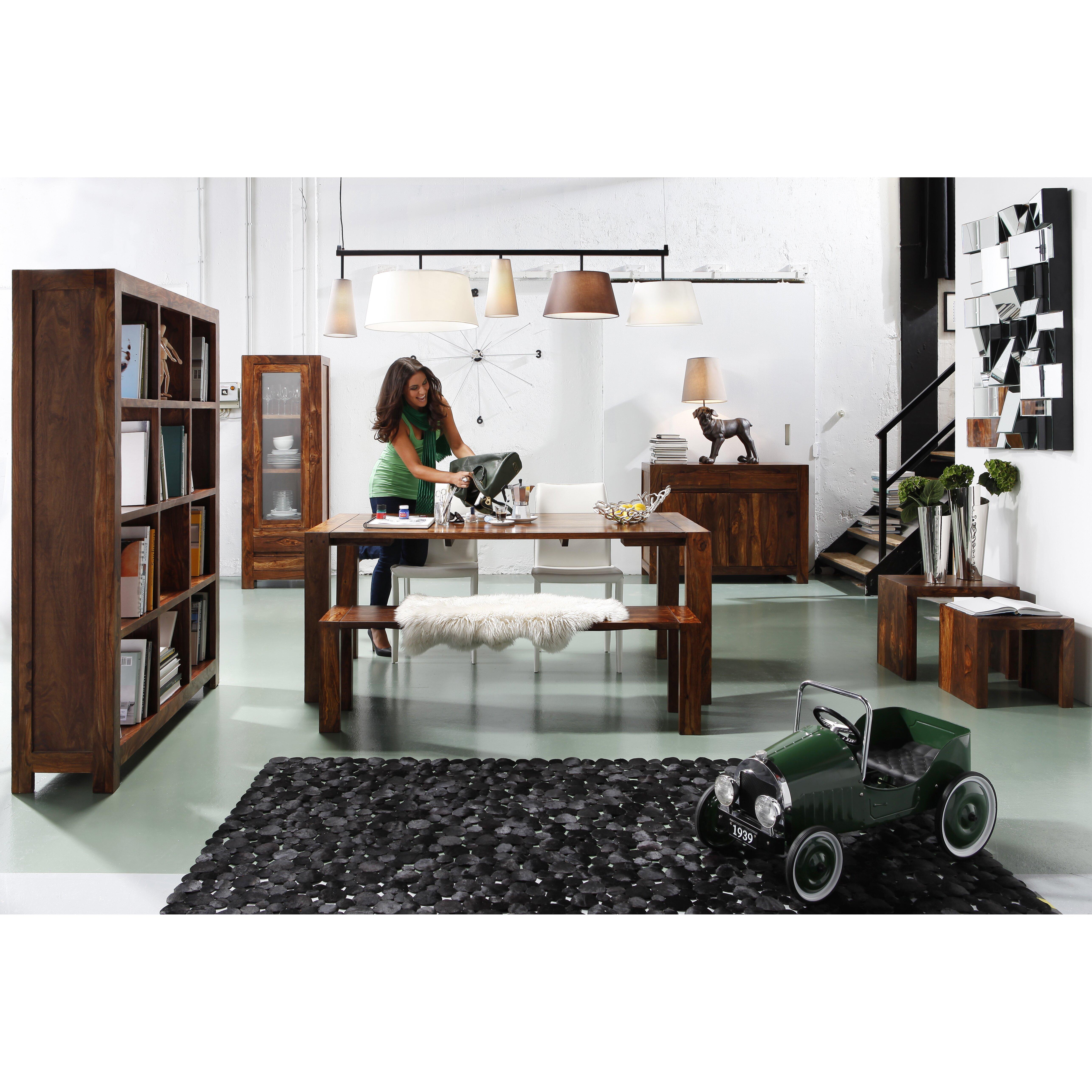 kare design balken pendelleuchte 5 flammig parecchi. Black Bedroom Furniture Sets. Home Design Ideas