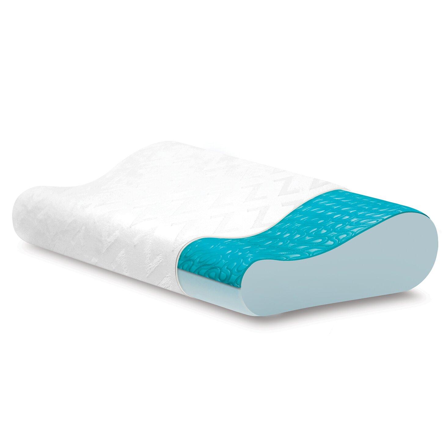 Malouf Contour Z Gel Dough Memory Foam Pillow Amp Reviews