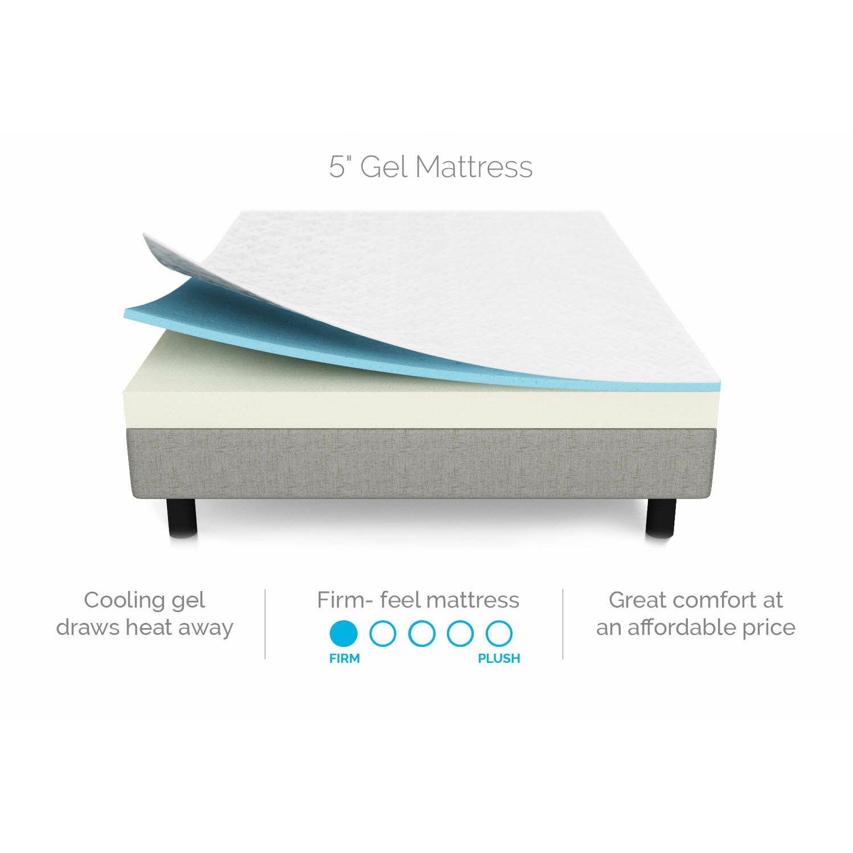 Lucid Gel Memory Foam Mattress Reviews Wayfair