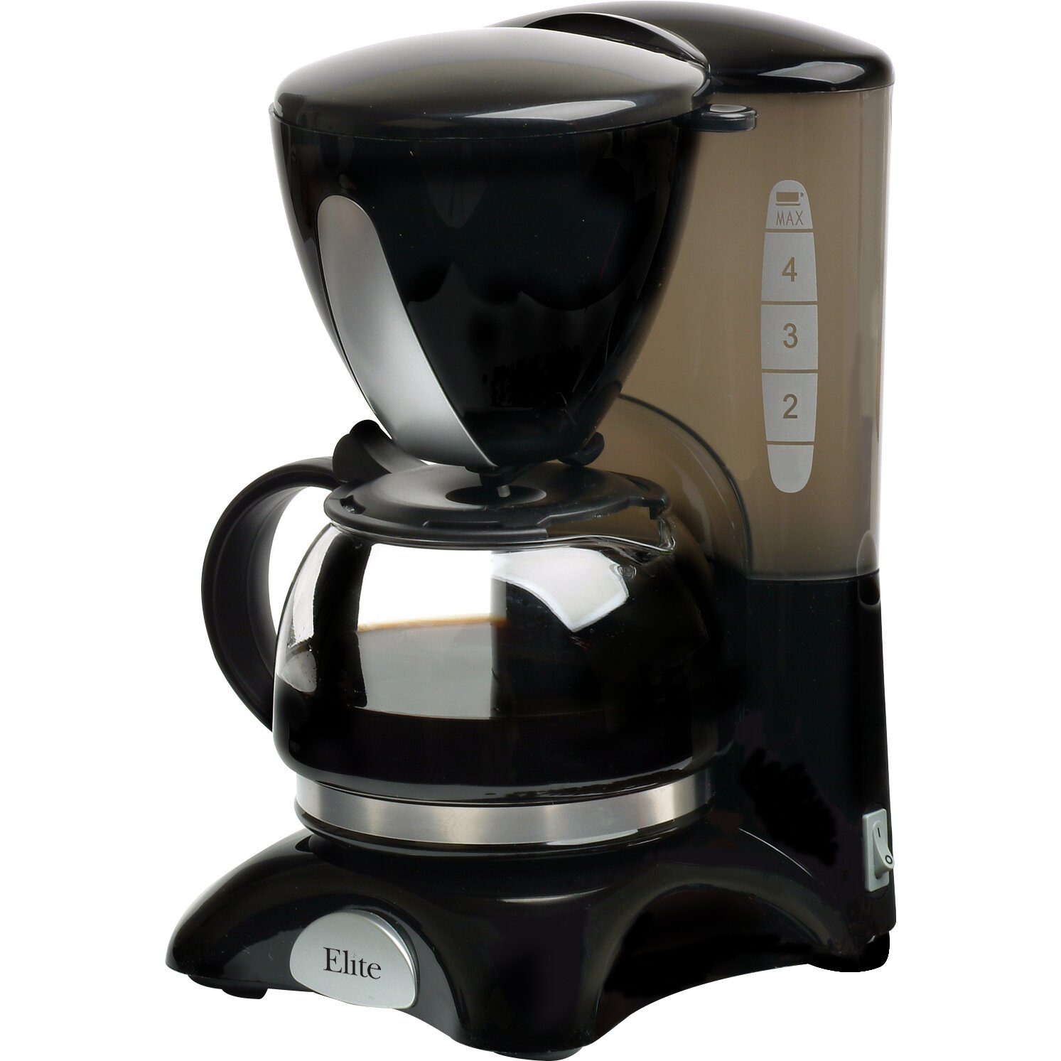 Coffee Maker Reviews 4 Cup : Elite by Maxi-Matic Cuisine 4 Cup Coffee Maker & Reviews Wayfair