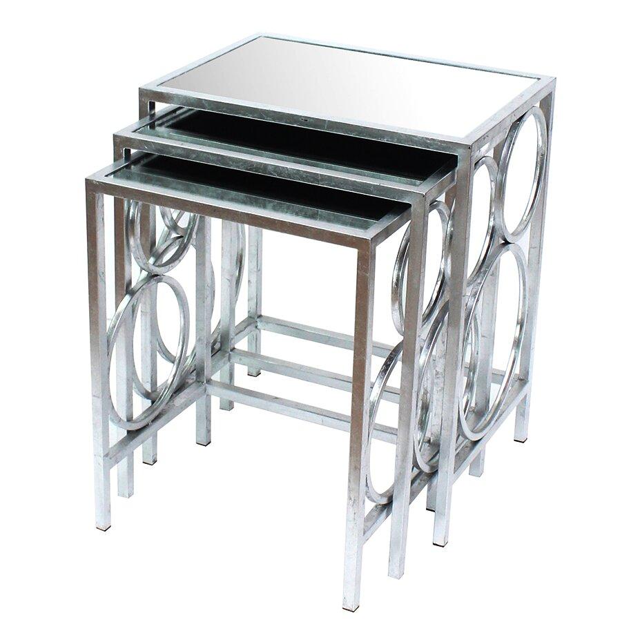 Teton Home 3 Piece Nesting Table Set Wayfair