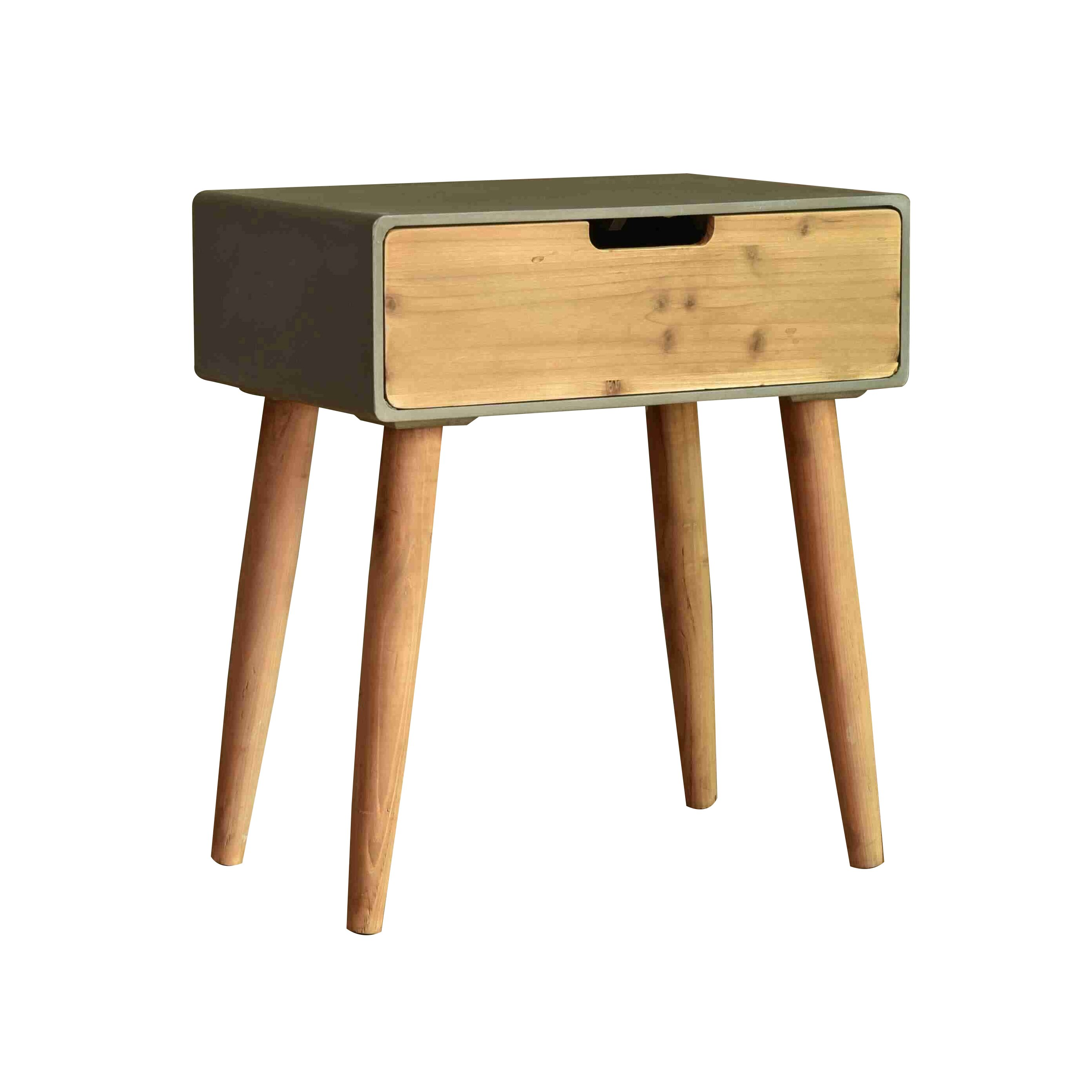 teton home minimalist end table wayfair