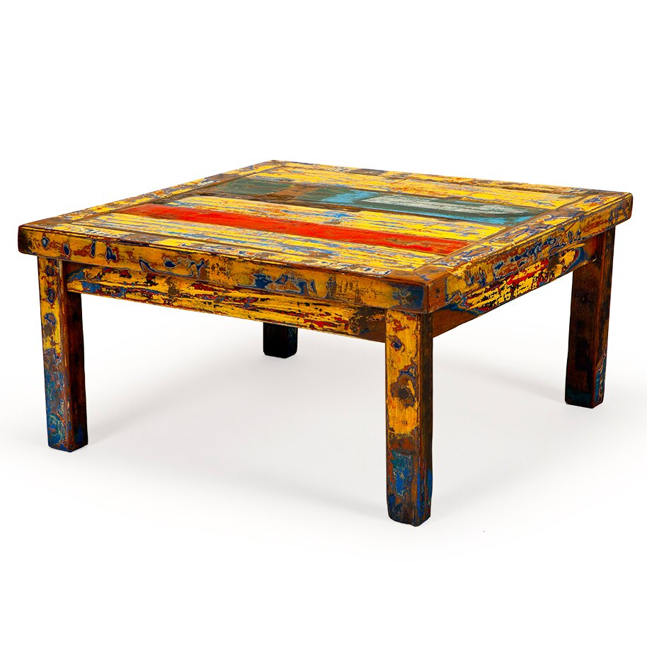 EcoChic Lifestyles Hunky Dory Reclaimed Wood Coffee Table